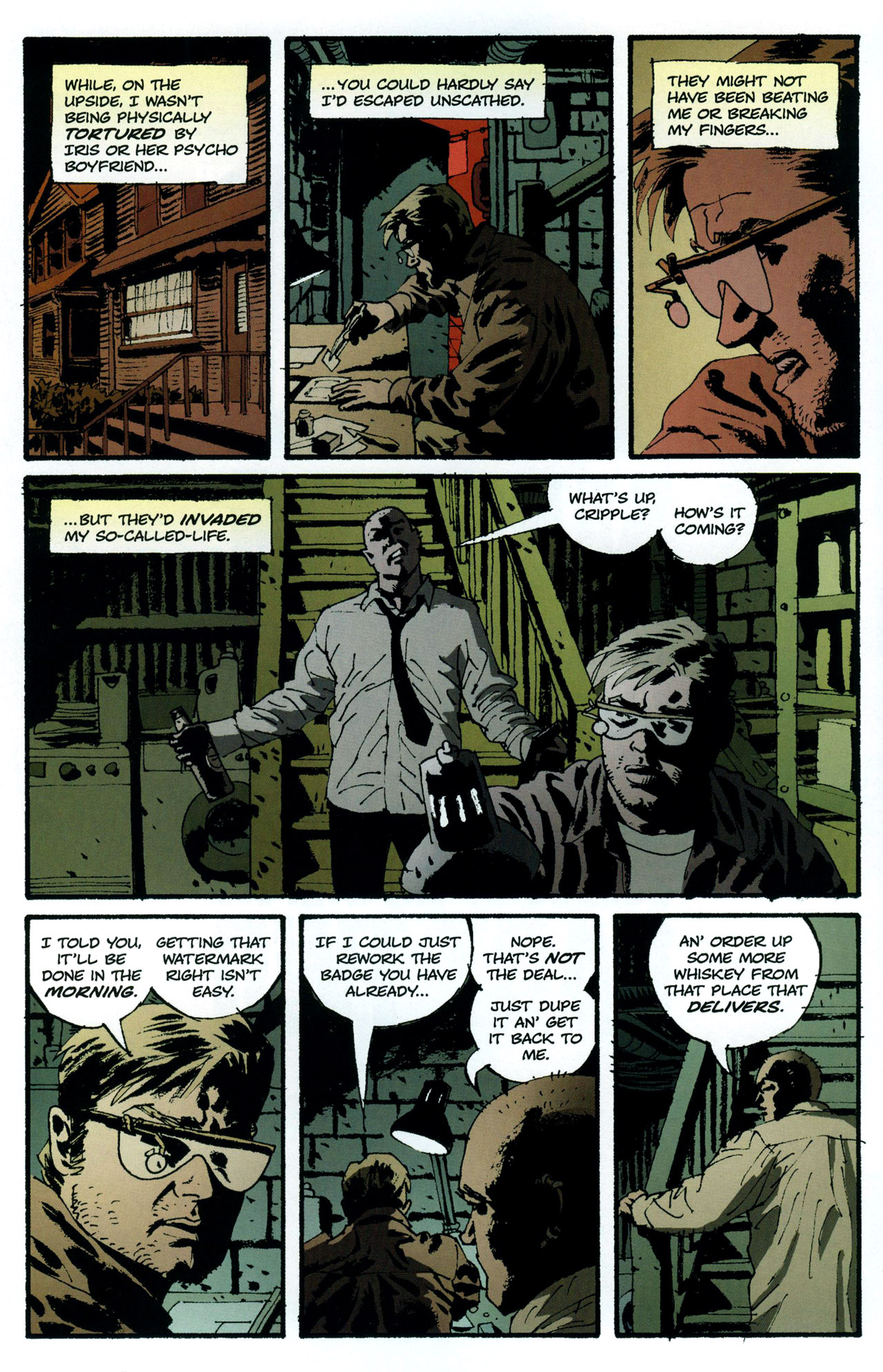 Read online Criminal (2008) comic -  Issue #5 - 4