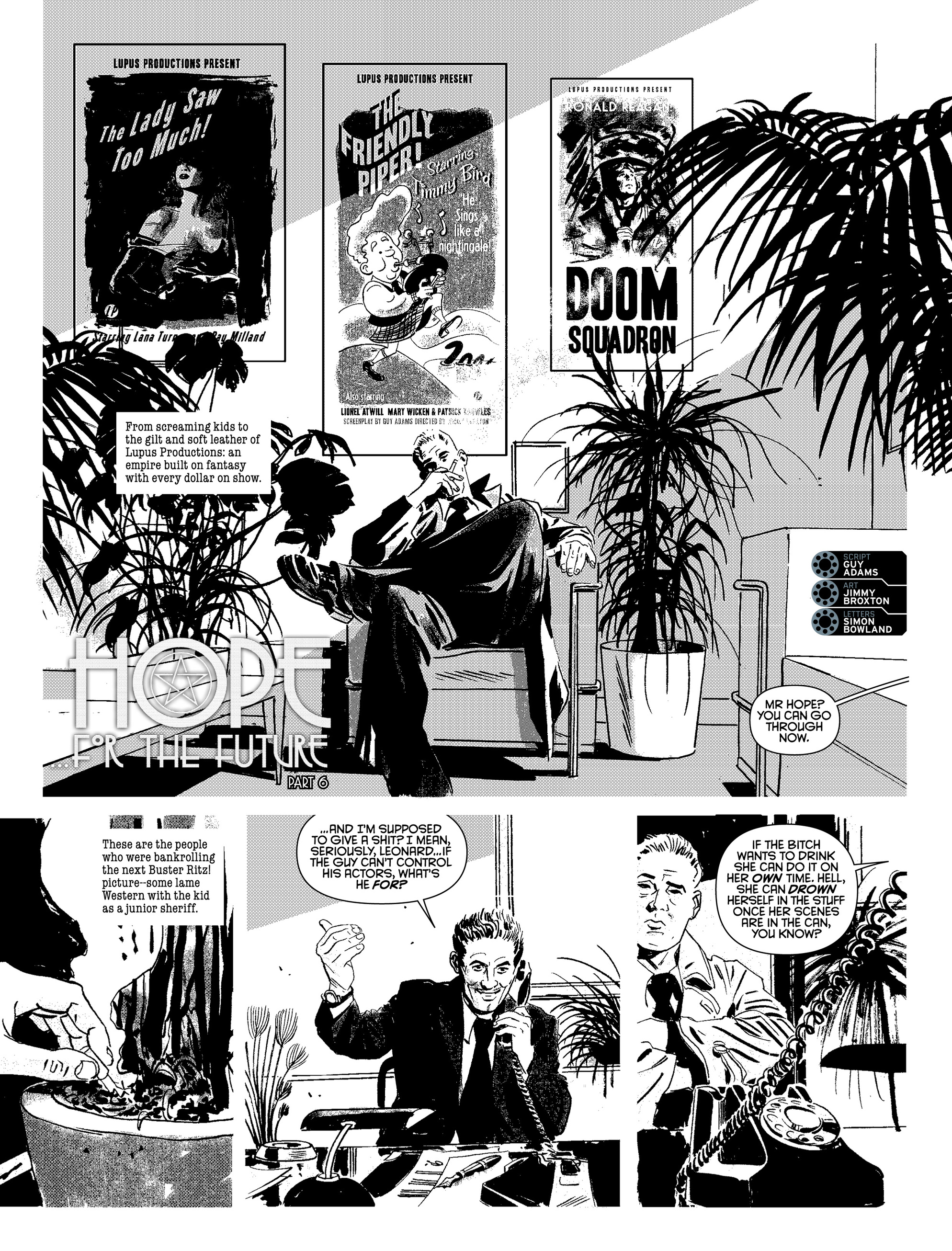 Read online 2000 AD comic -  Issue #2016 - 15