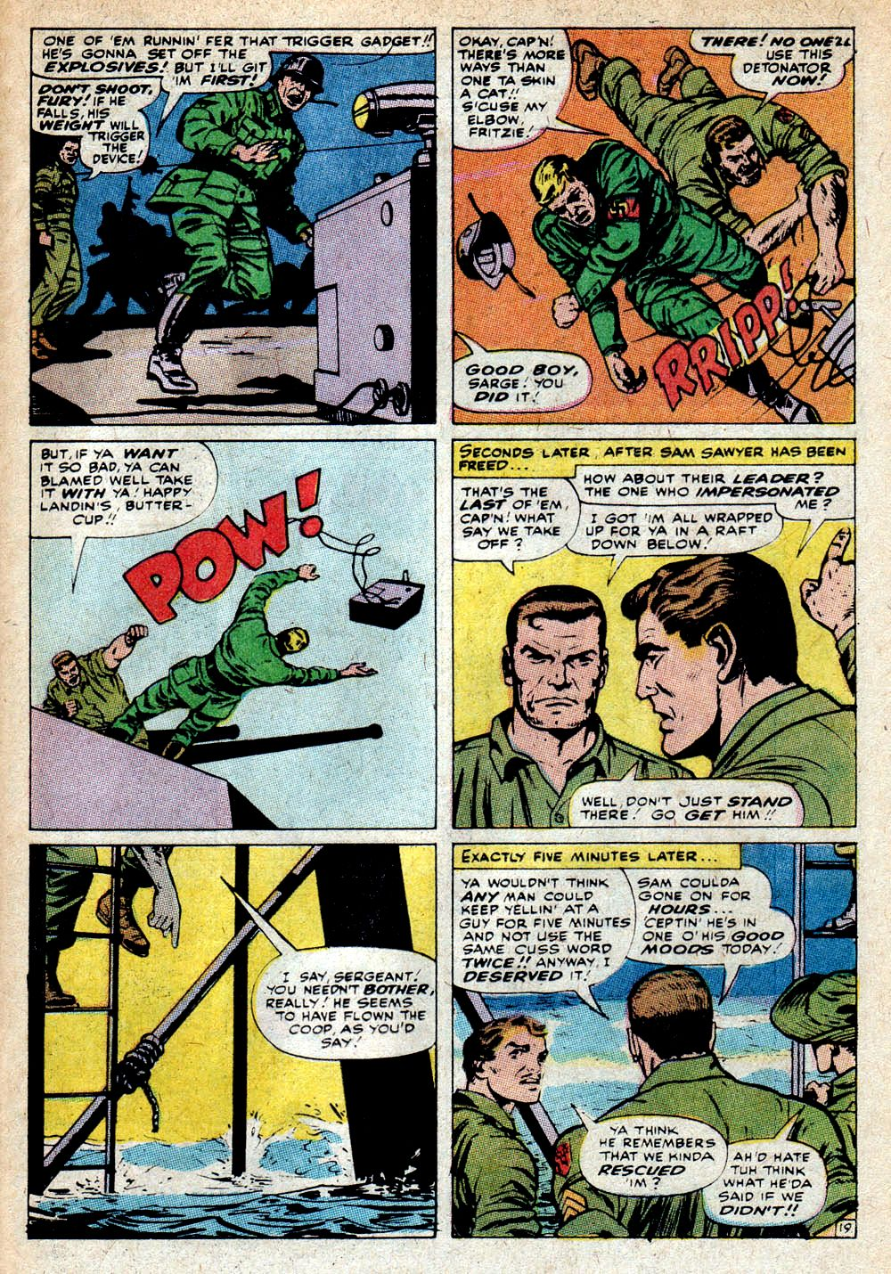 Read online Sgt. Fury comic -  Issue #85 - 29