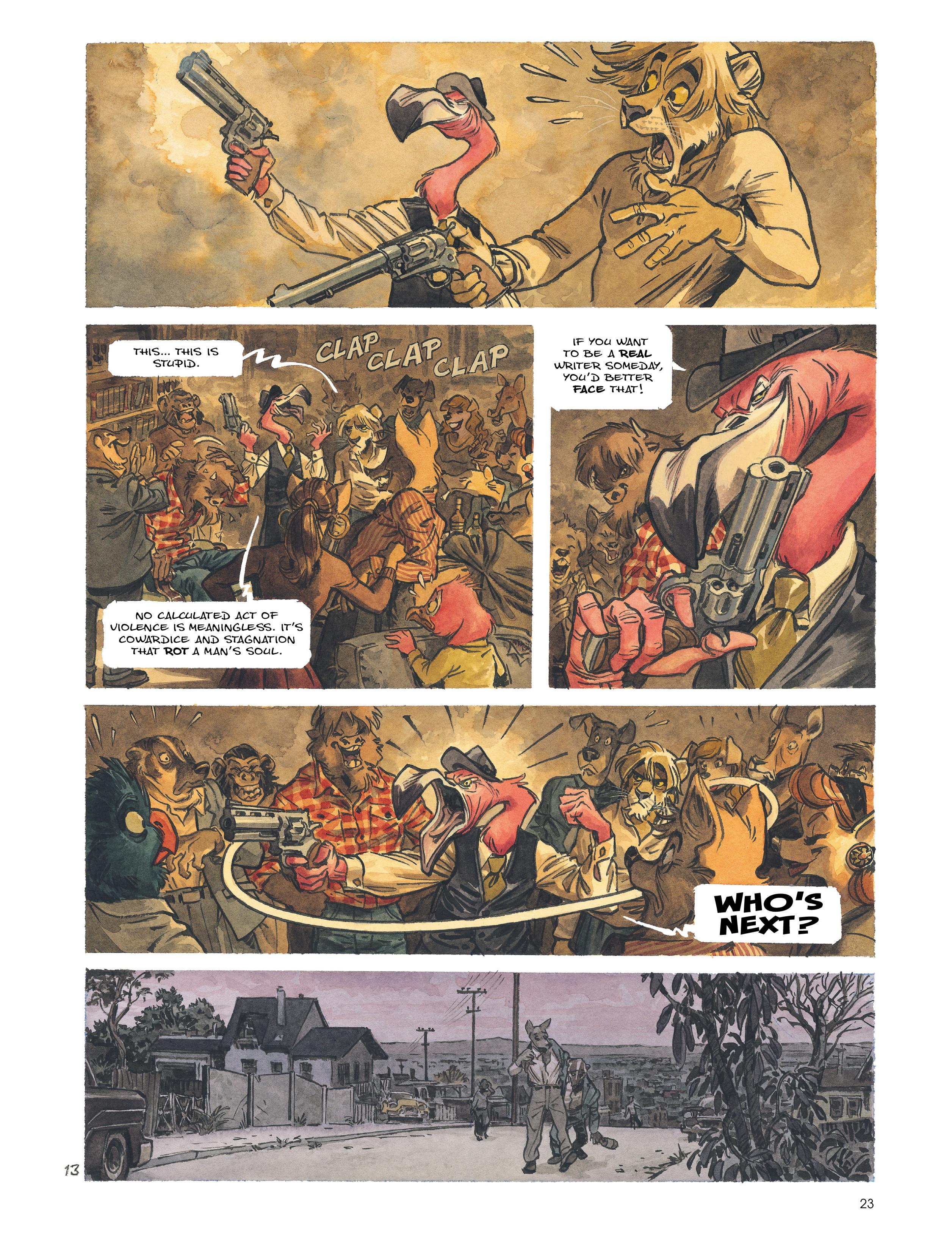 Read online Blacksad: Amarillo comic -  Issue # Full - 22