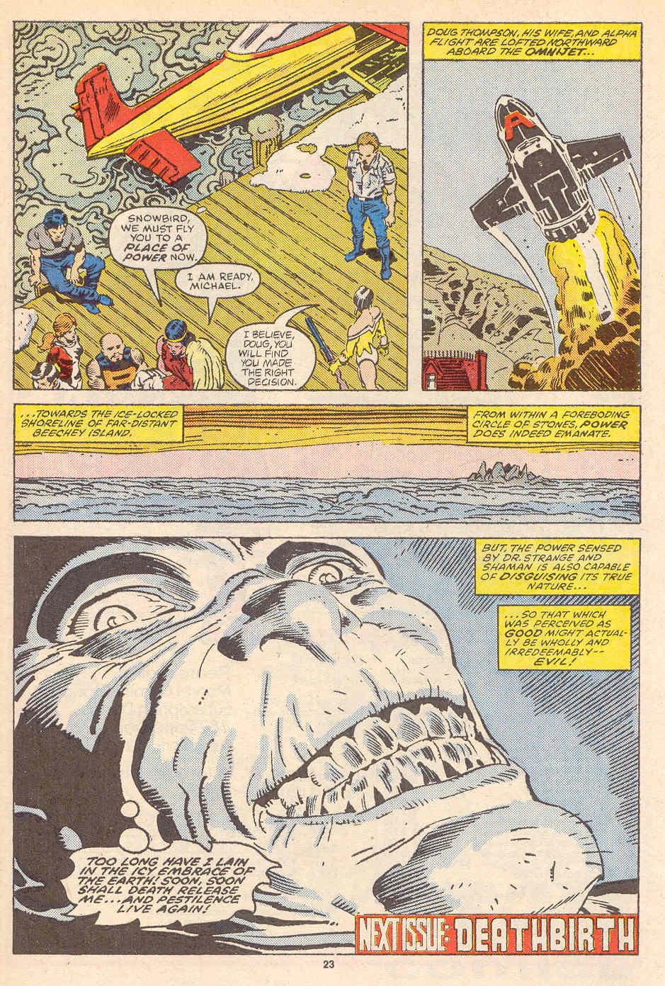 Read online Alpha Flight (1983) comic -  Issue #36 - 25