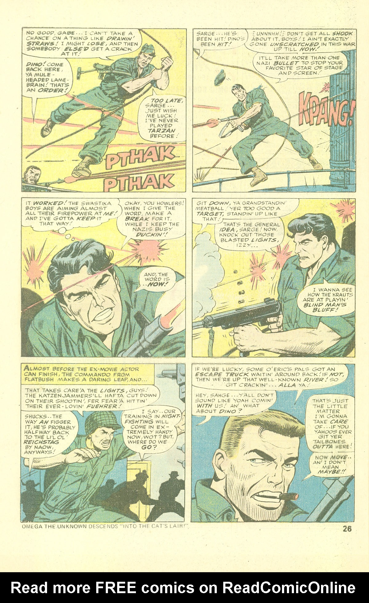 Read online Sgt. Fury comic -  Issue #137 - 28