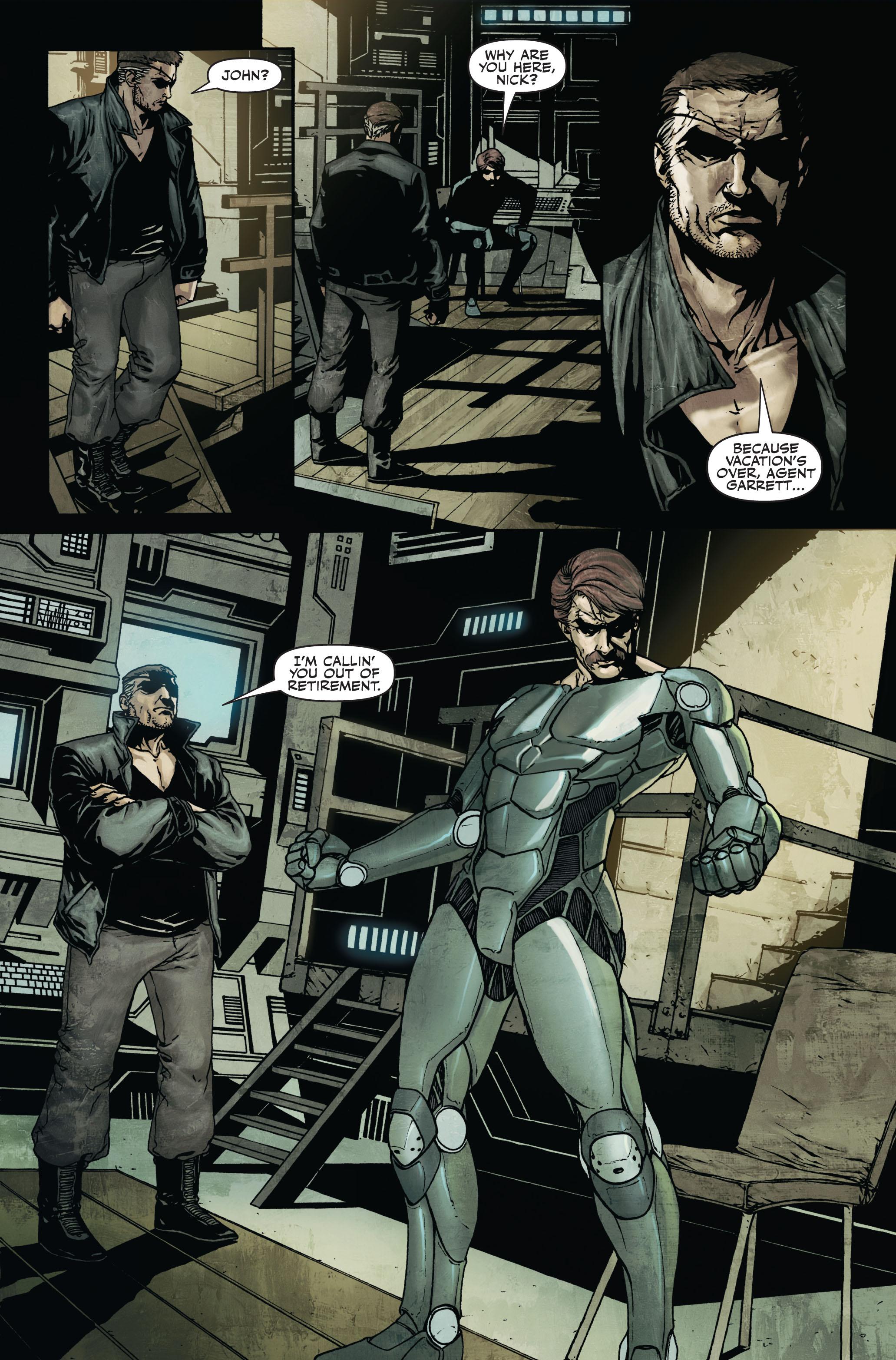 Read online Secret Warriors comic -  Issue #7 - 22