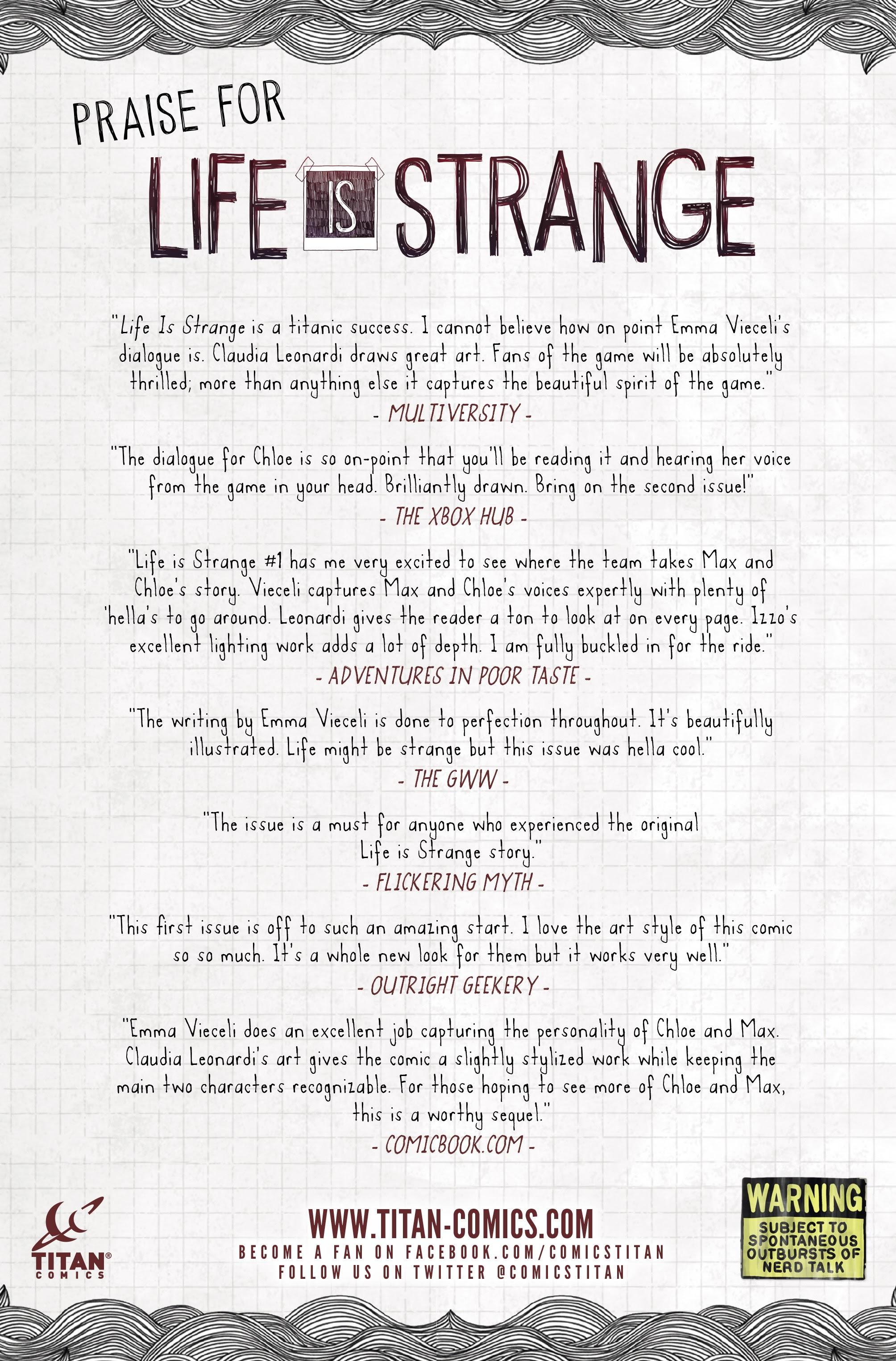Life is Strange 11  #11 - English 32