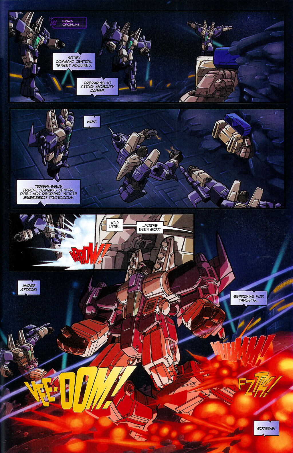 """Read online Transformers War Within: """"The Age of Wrath"""" comic -  Issue #2 - 19"""