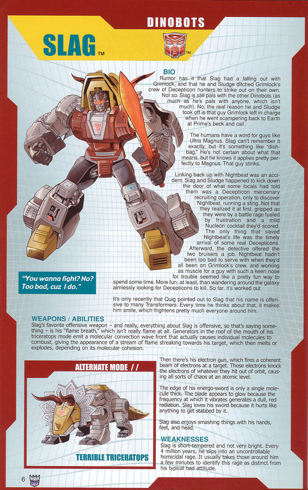 Read online Transformers: Collectors' Club comic -  Issue #22 - 6