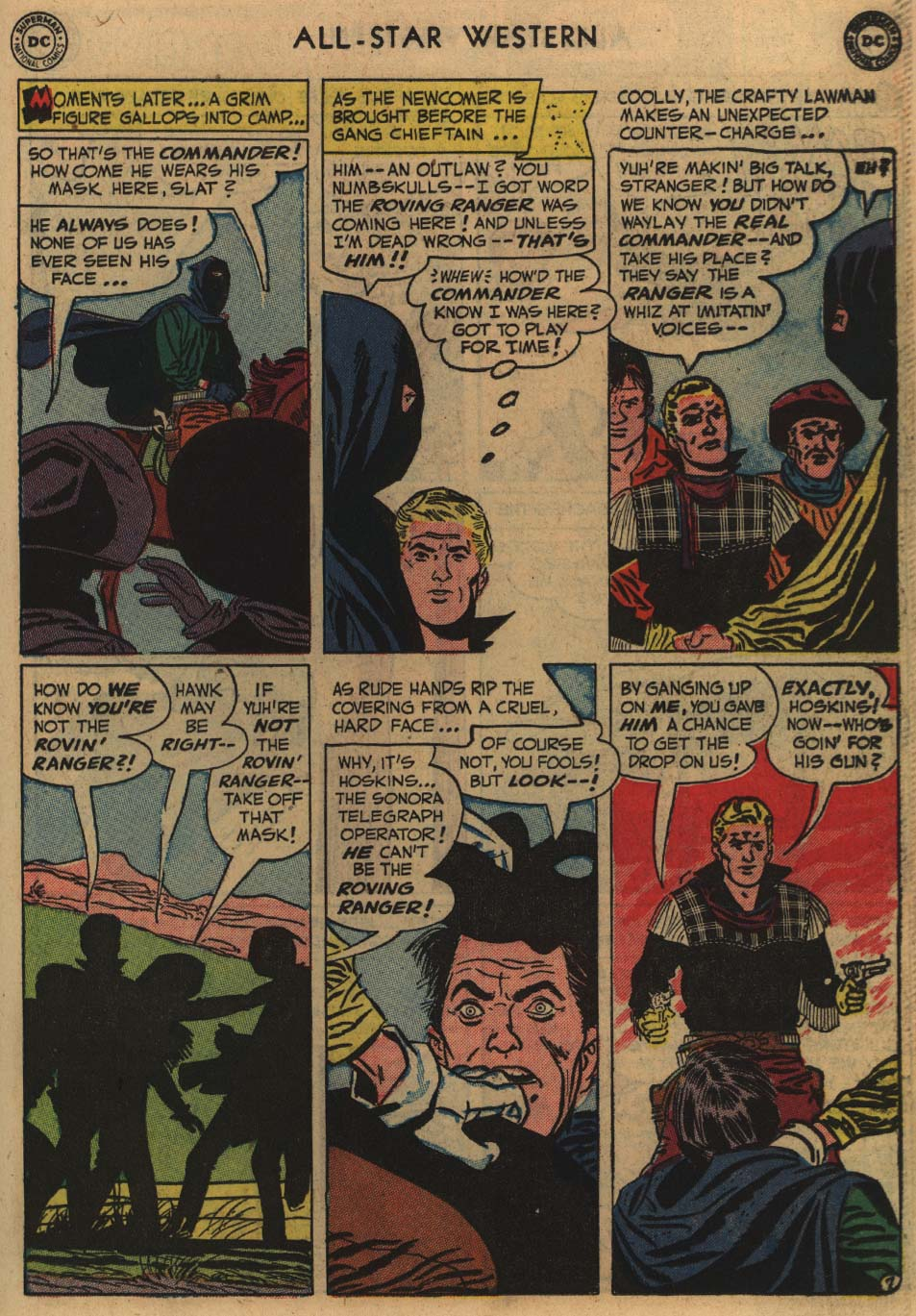 Read online All-Star Western (1951) comic -  Issue #60 - 33