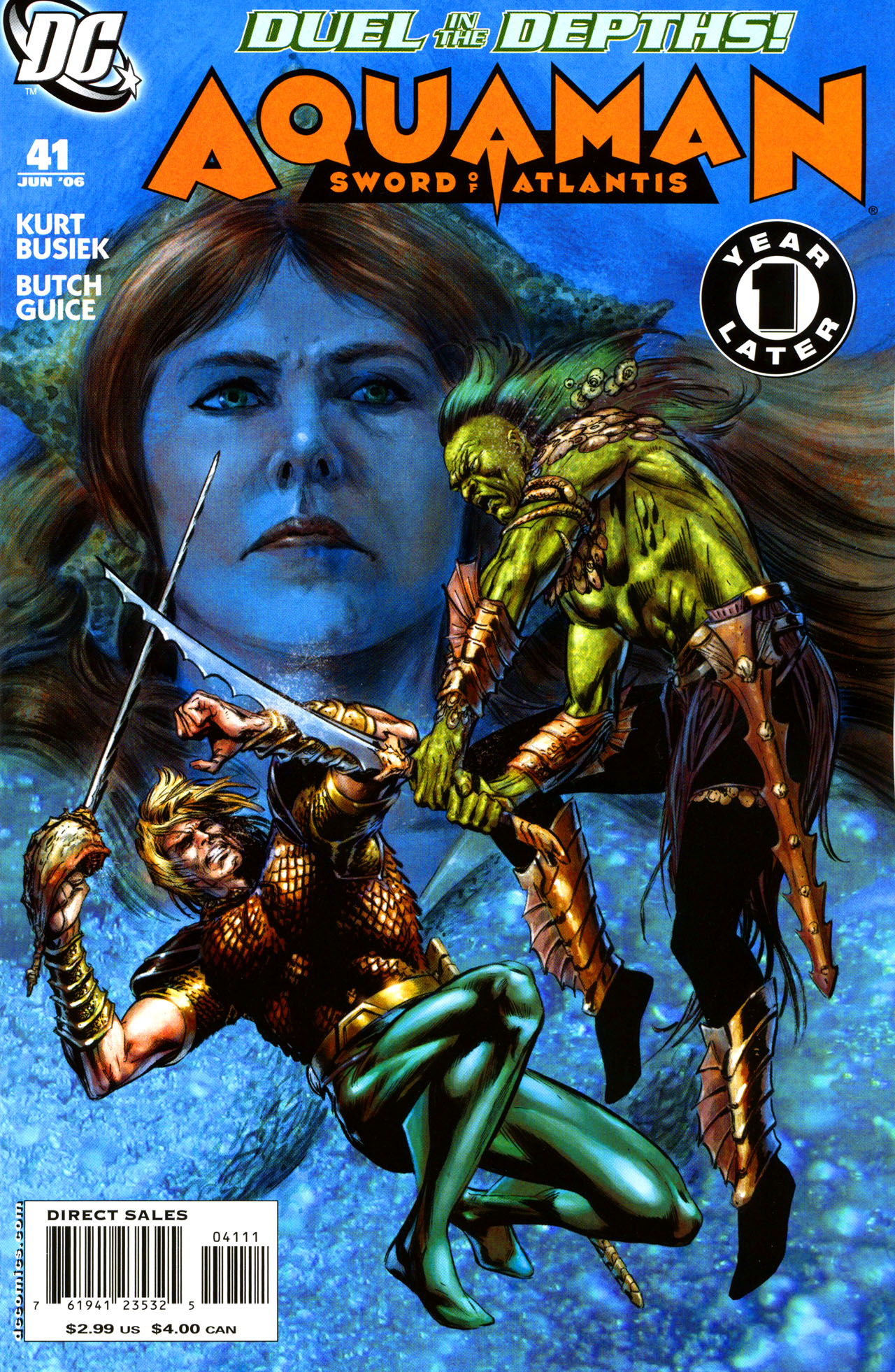 Read online Aquaman: Sword of Atlantis comic -  Issue #41 - 2