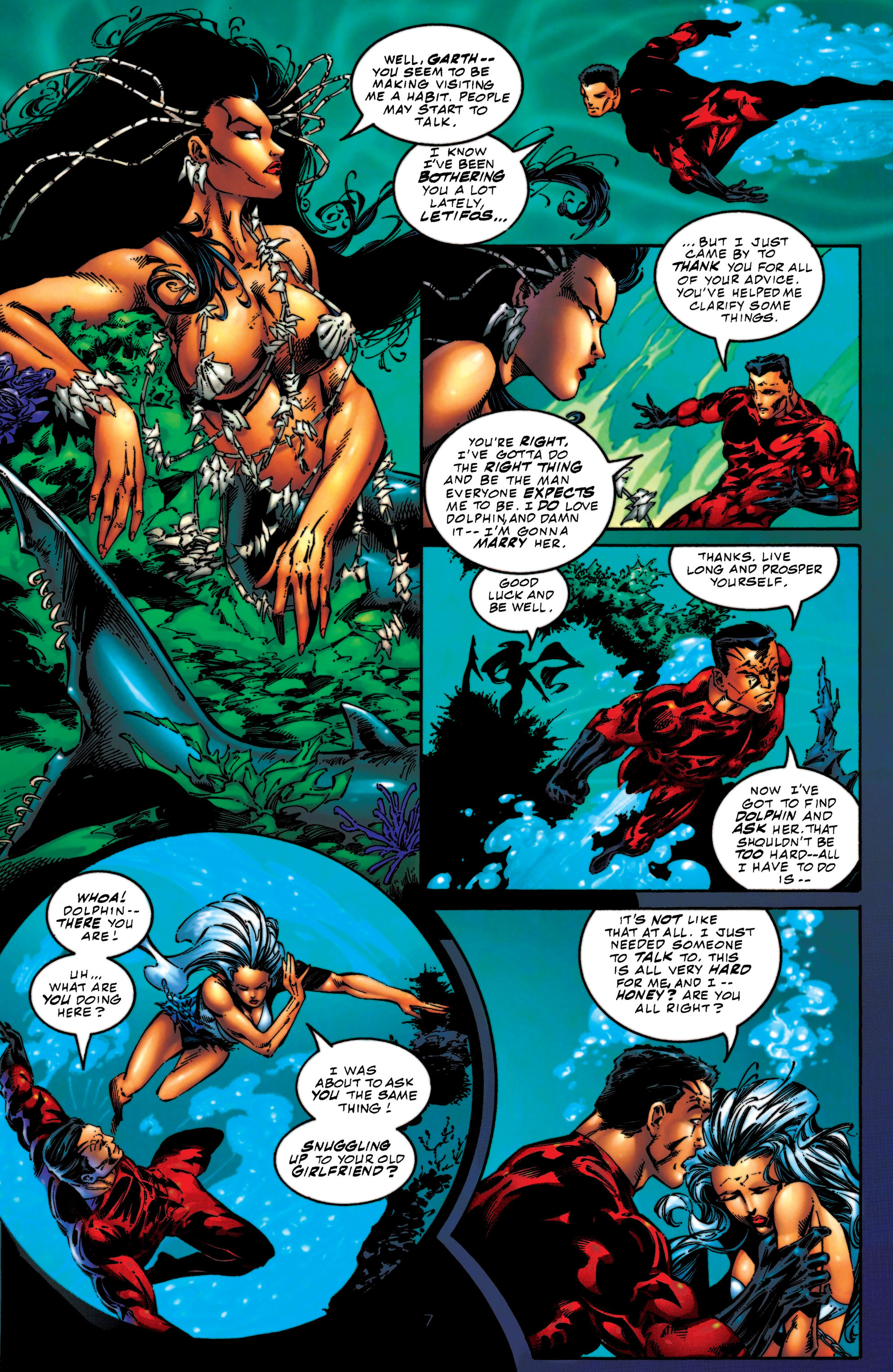 Read online Aquaman (1994) comic -  Issue #56 - 7