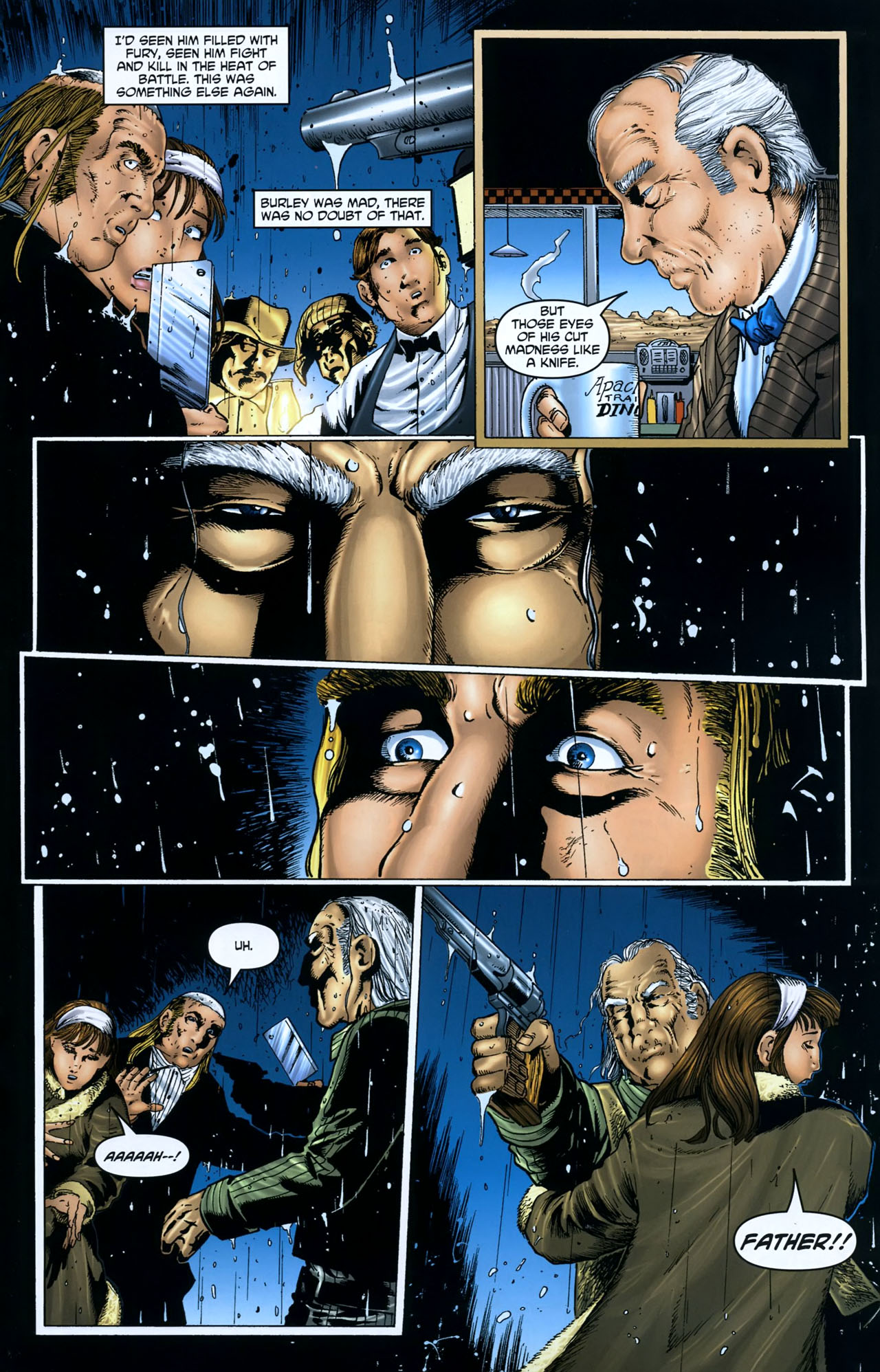 Read online Garth Ennis' Streets of Glory comic -  Issue #5 - 19