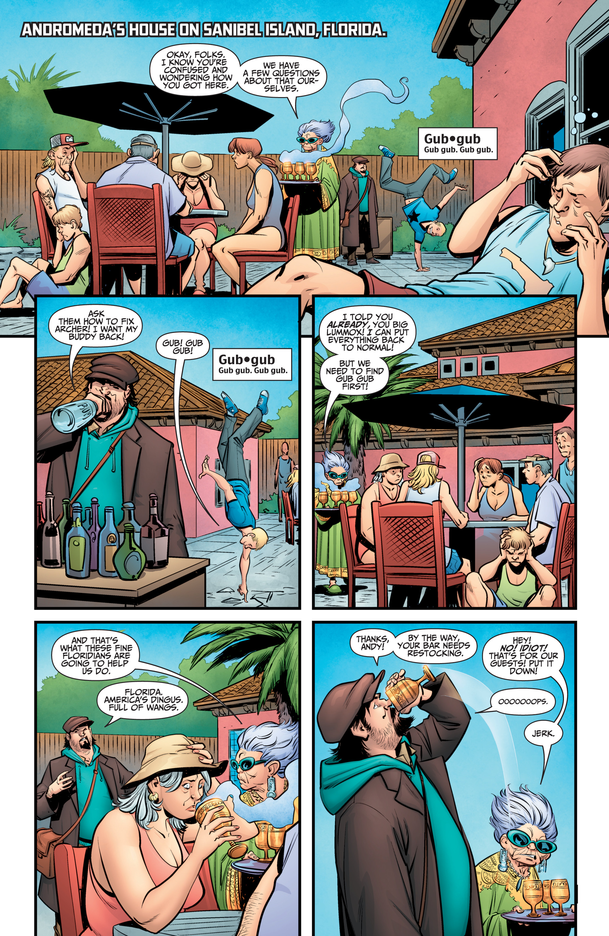 Read online A&A: The Adventures of Archer & Armstrong comic -  Issue #11 - 5