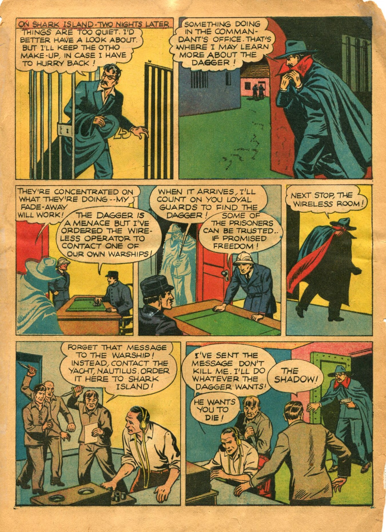 Read online Shadow Comics comic -  Issue #12 - 9