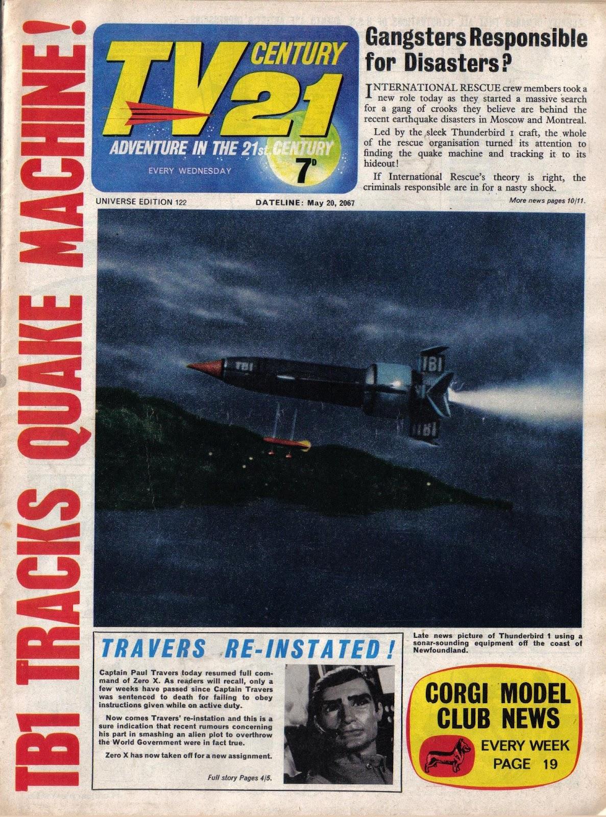 TV Century 21 (TV 21) issue 122 - Page 1