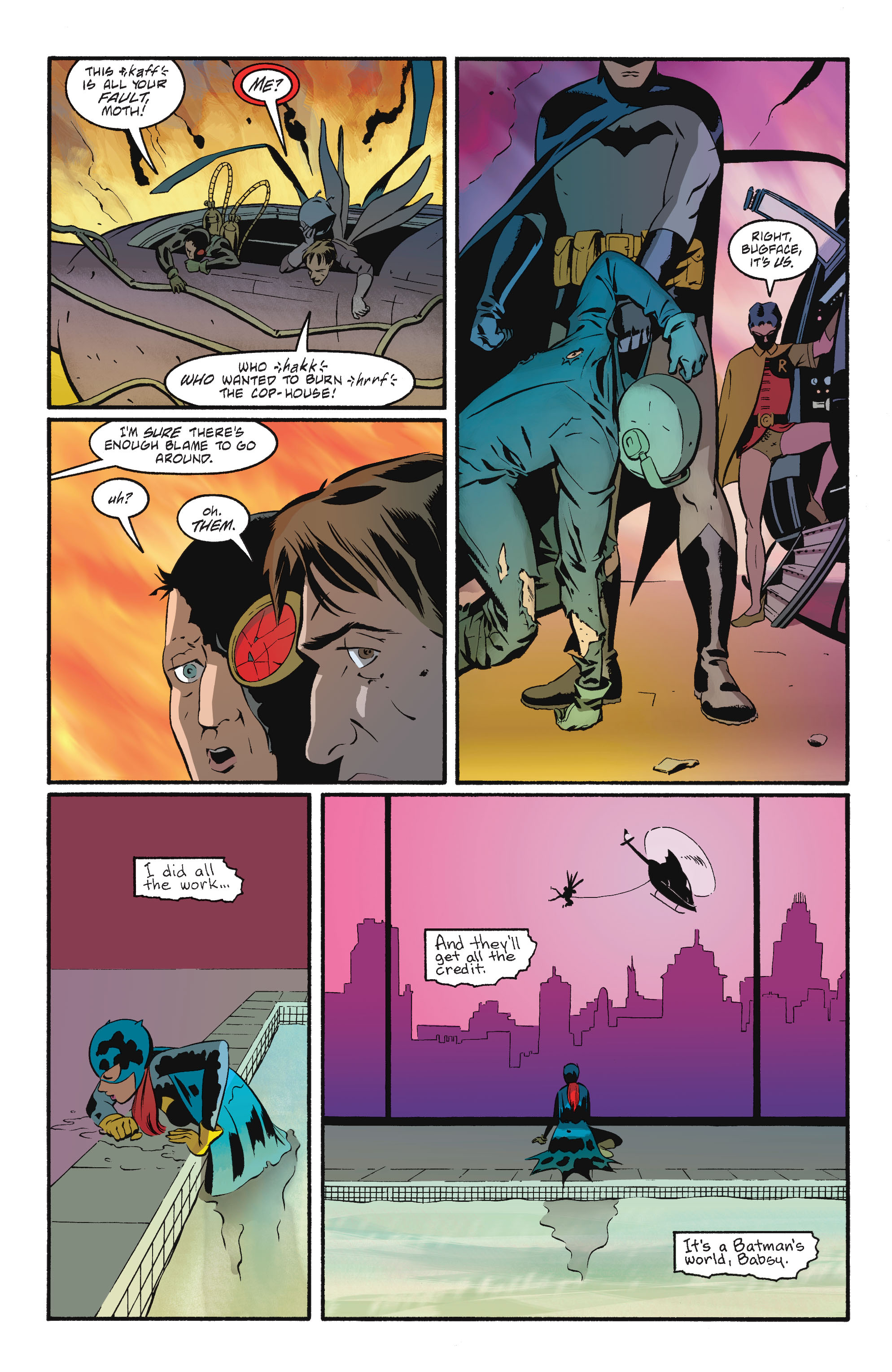 Read online Batgirl/Robin: Year One comic -  Issue # TPB 2 - 187