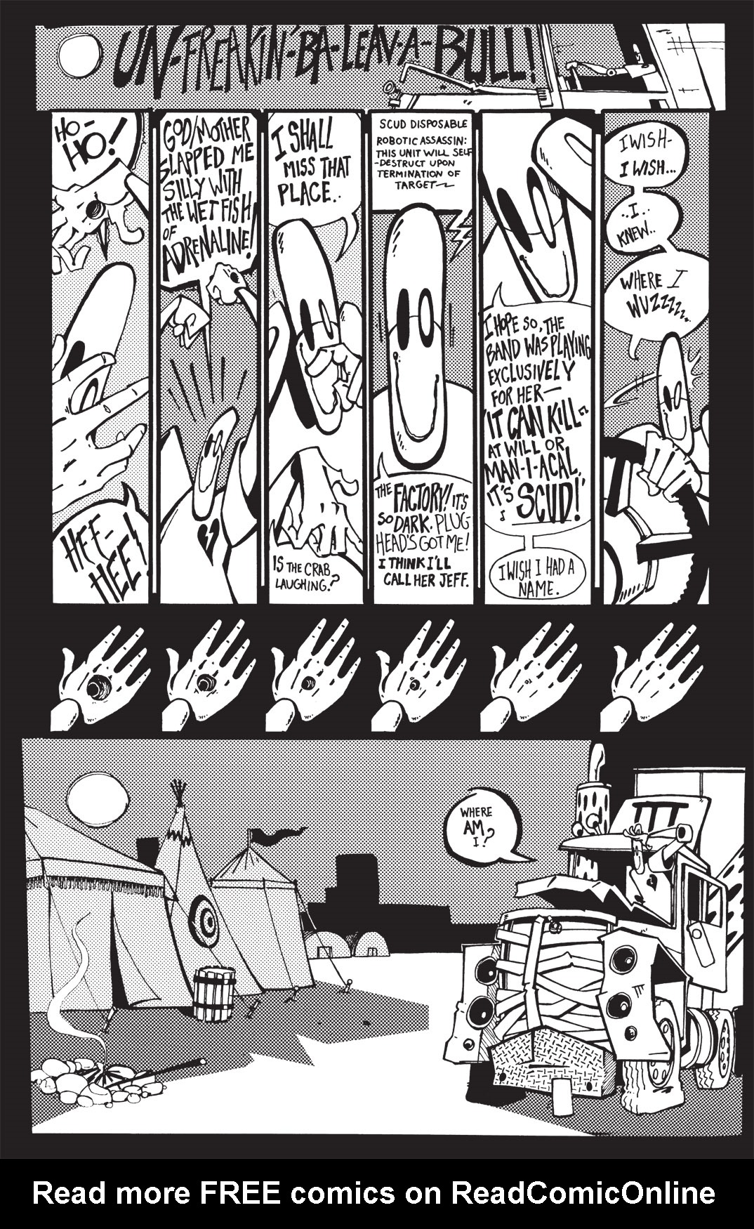 Read online Scud: The Disposable Assassin: The Whole Shebang comic -  Issue # TPB (Part 1) - 83