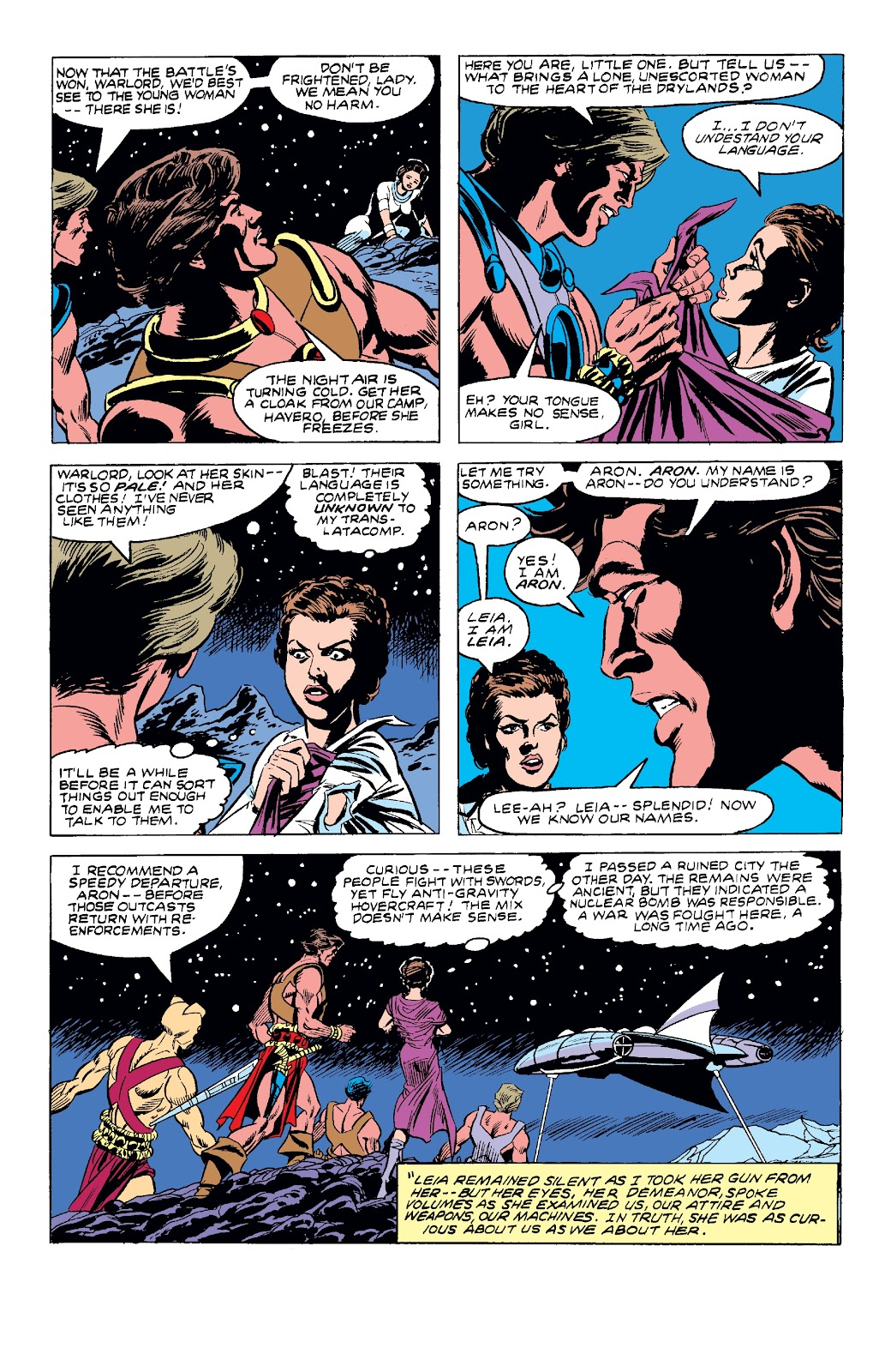 Read online Star Wars Legends: The Original Marvel Years - Epic Collection comic -  Issue # TPB 3 (Part 4) - 22