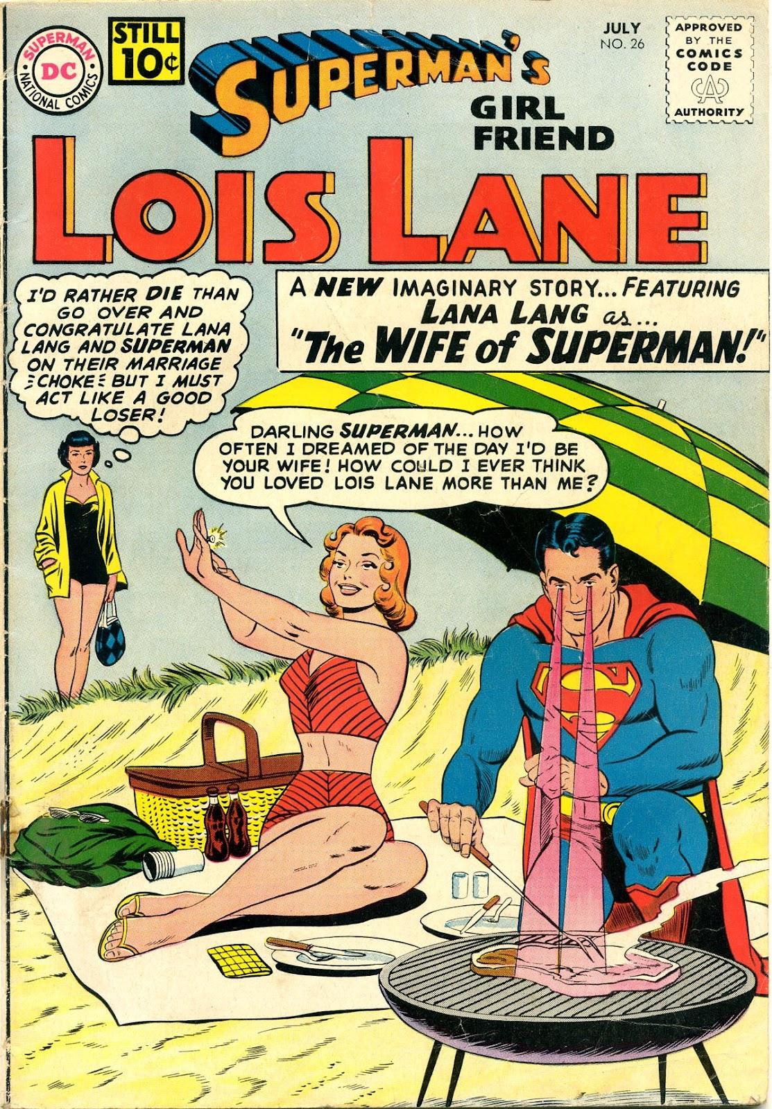 Supermans Girl Friend, Lois Lane 26 Page 1