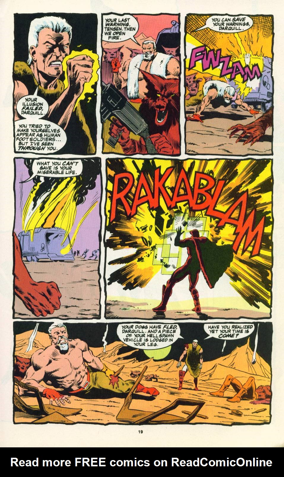 Read online Justice (1986) comic -  Issue #22 - 20