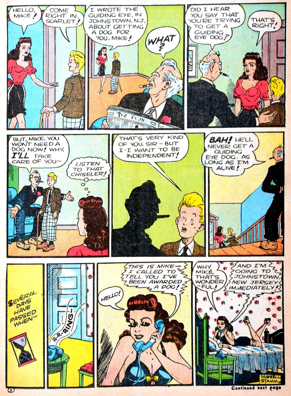 Read online Famous Funnies comic -  Issue #88 - 25
