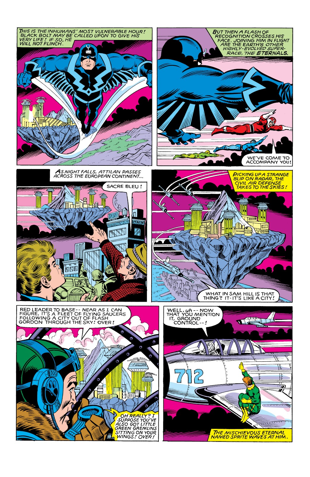 Read online Marvel Masterworks: The Inhumans comic -  Issue # TPB 2 (Part 3) - 95