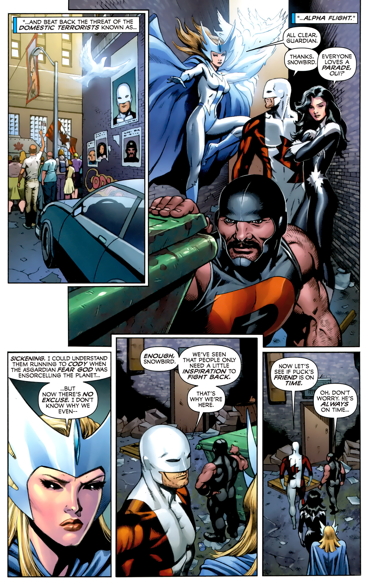 Read online Alpha Flight (2011) comic -  Issue #5 - 4