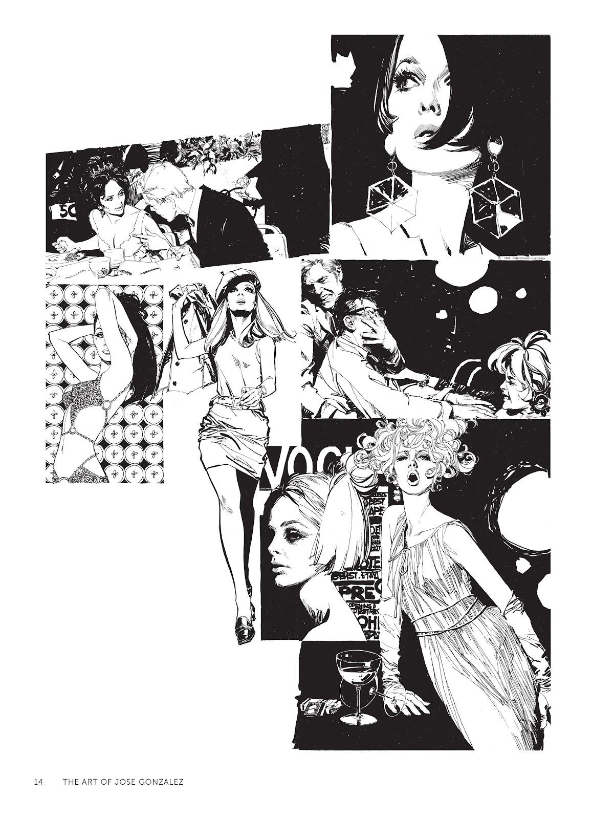 Read online The Art of Jose Gonzalez comic -  Issue # TPB (Part 1) - 15