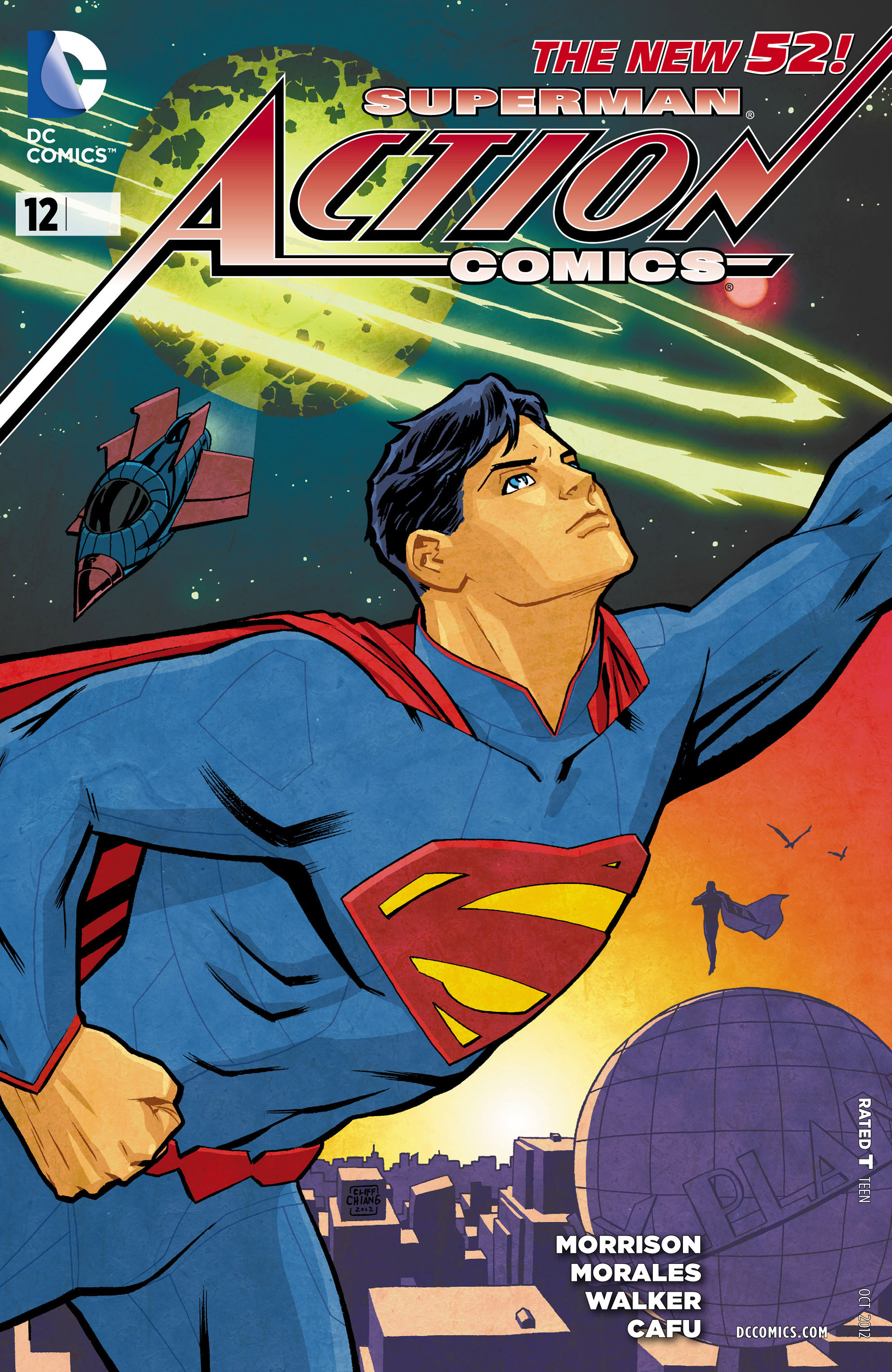 Read online Action Comics (2011) comic -  Issue #12 - 32
