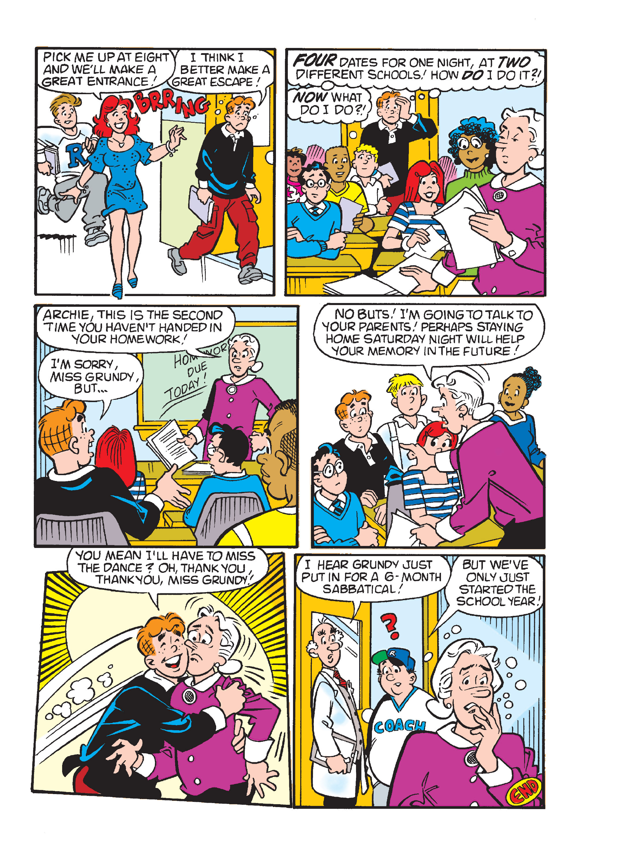 Read online World of Archie Double Digest comic -  Issue #55 - 221