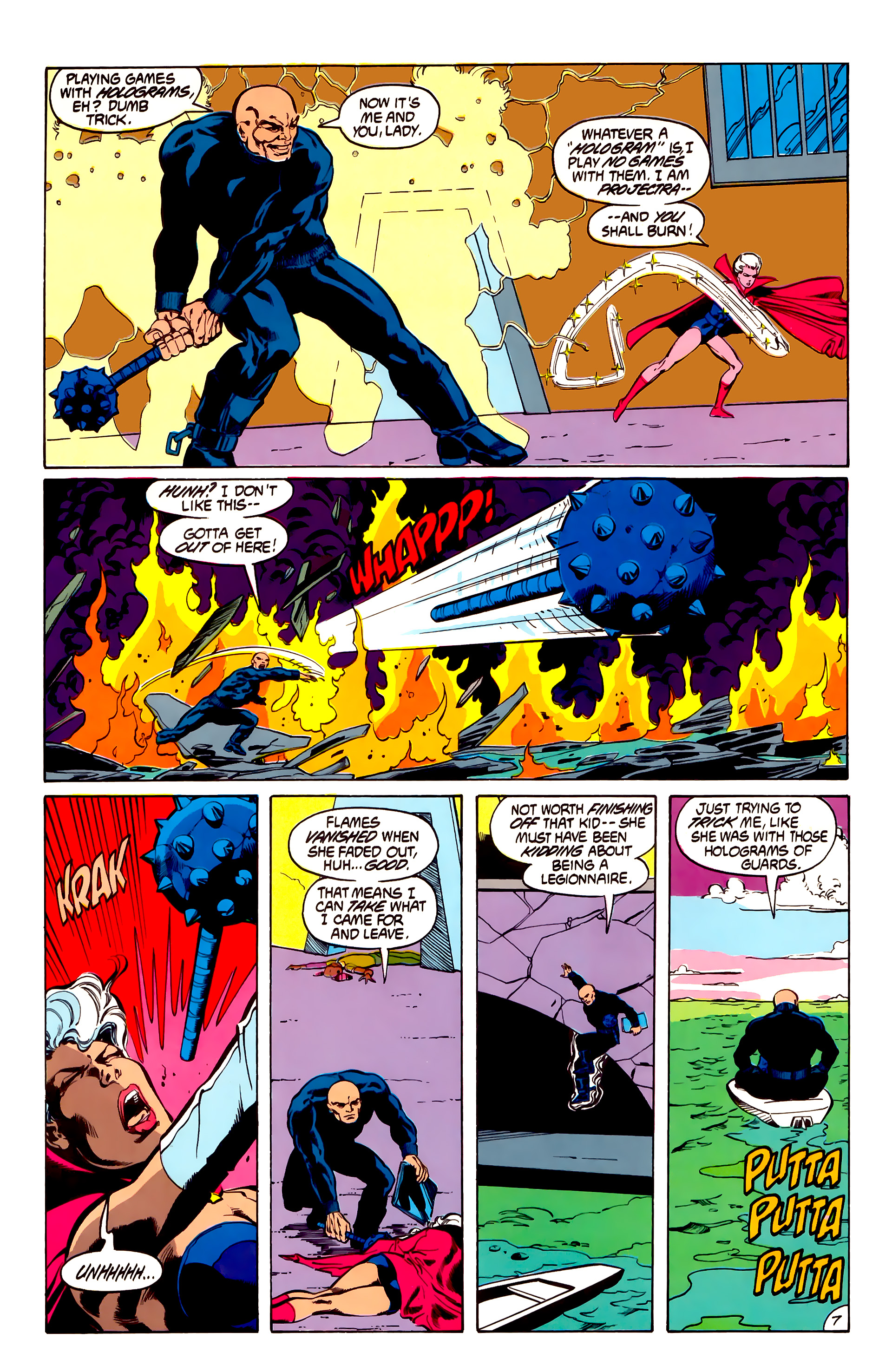 Legion of Super-Heroes (1984) 31 Page 7