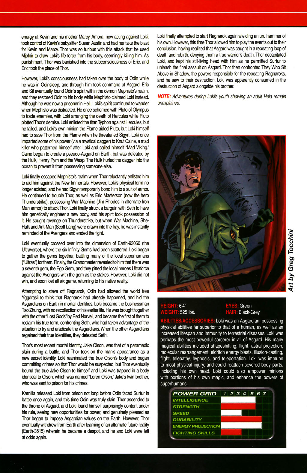 Read online All-New Official Handbook of the Marvel Universe A to Z comic -  Issue #6 - 35
