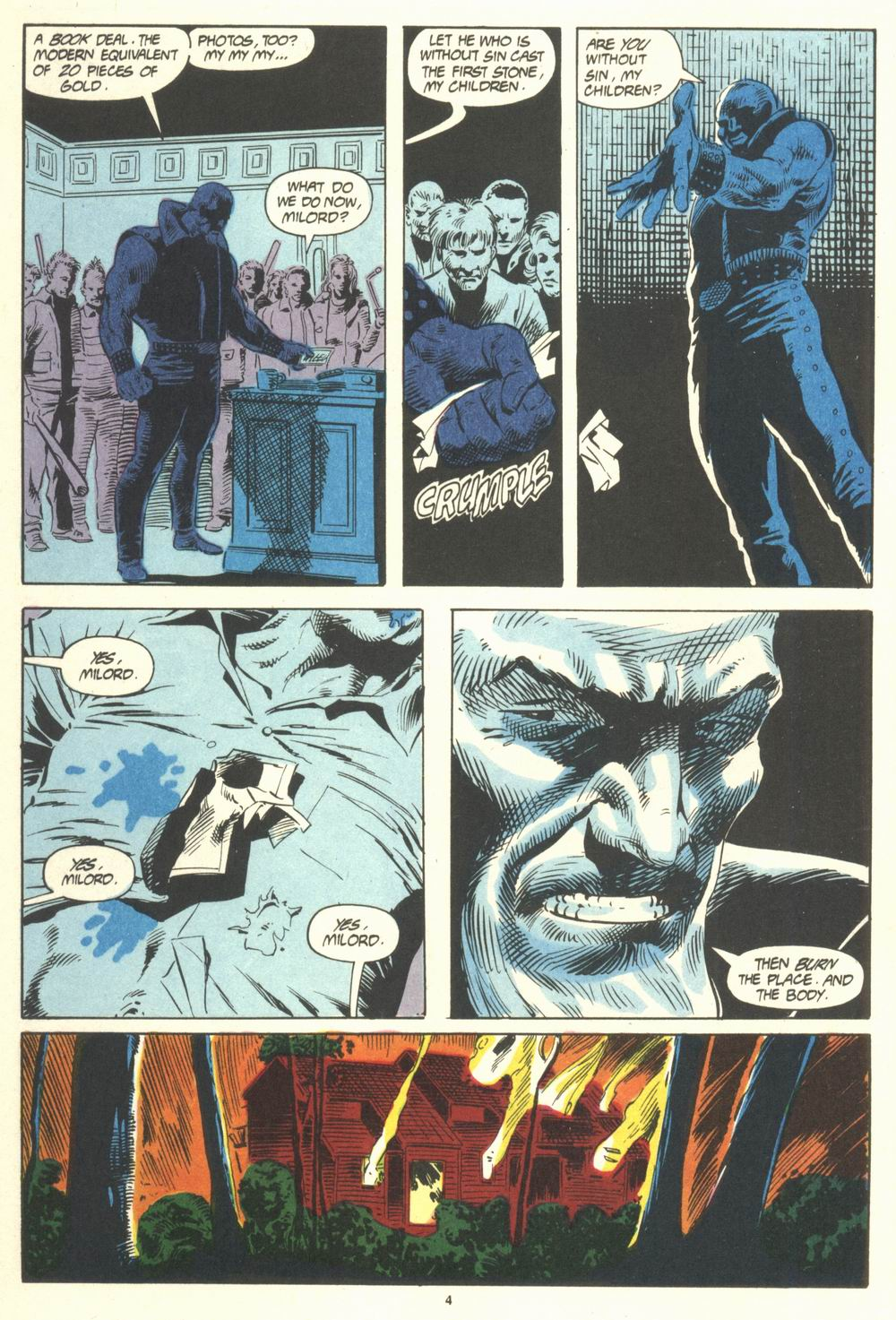 Read online Justice (1986) comic -  Issue #19 - 6