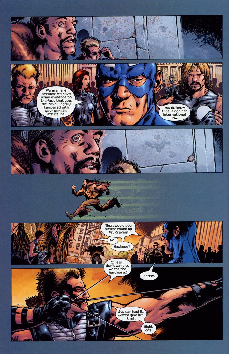 Read online Ultimate Six comic -  Issue #1 - 19
