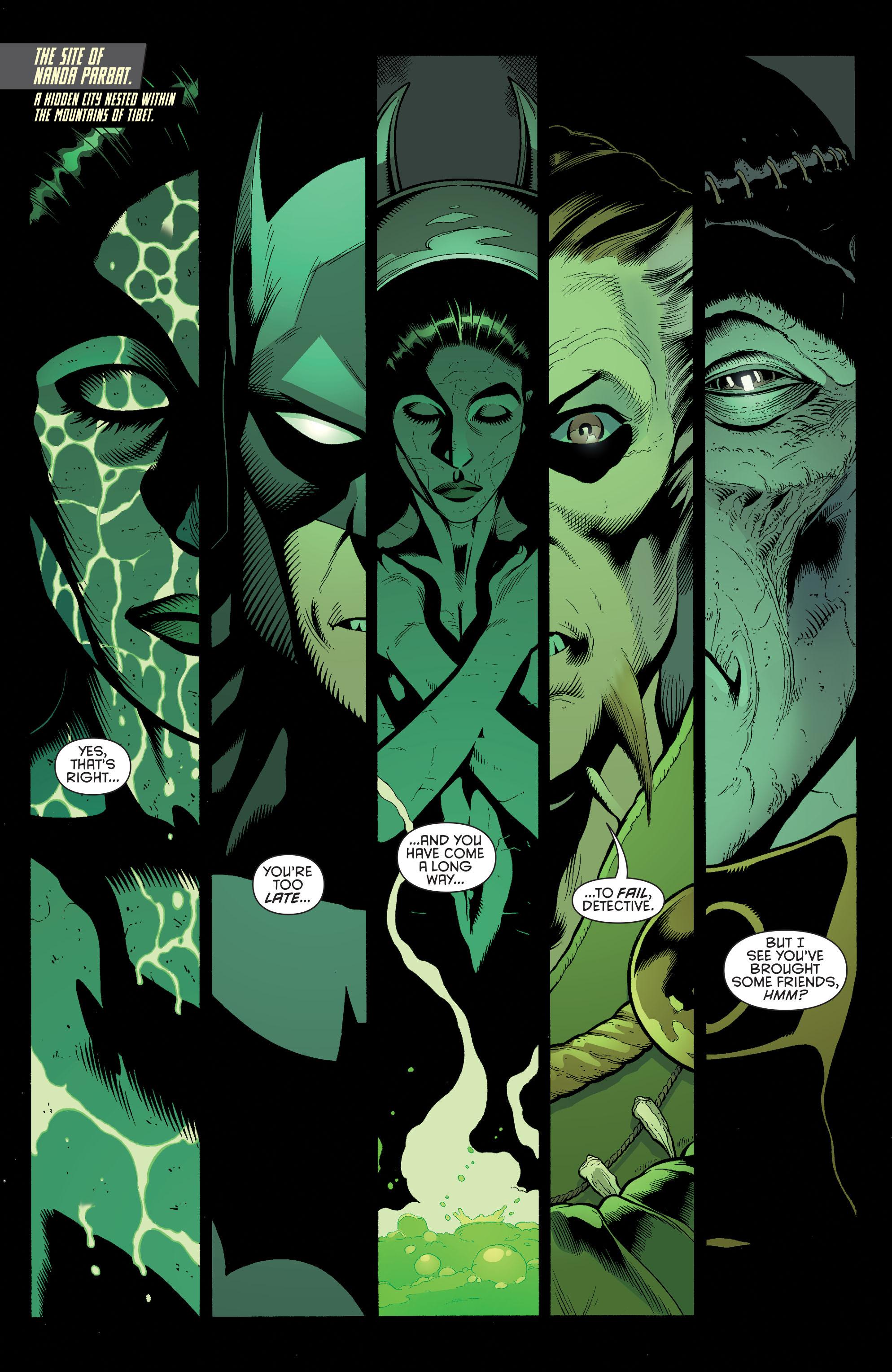 Read online Batman and Robin (2011) comic -  Issue #32 - Batman and Ra's al Ghul - 2