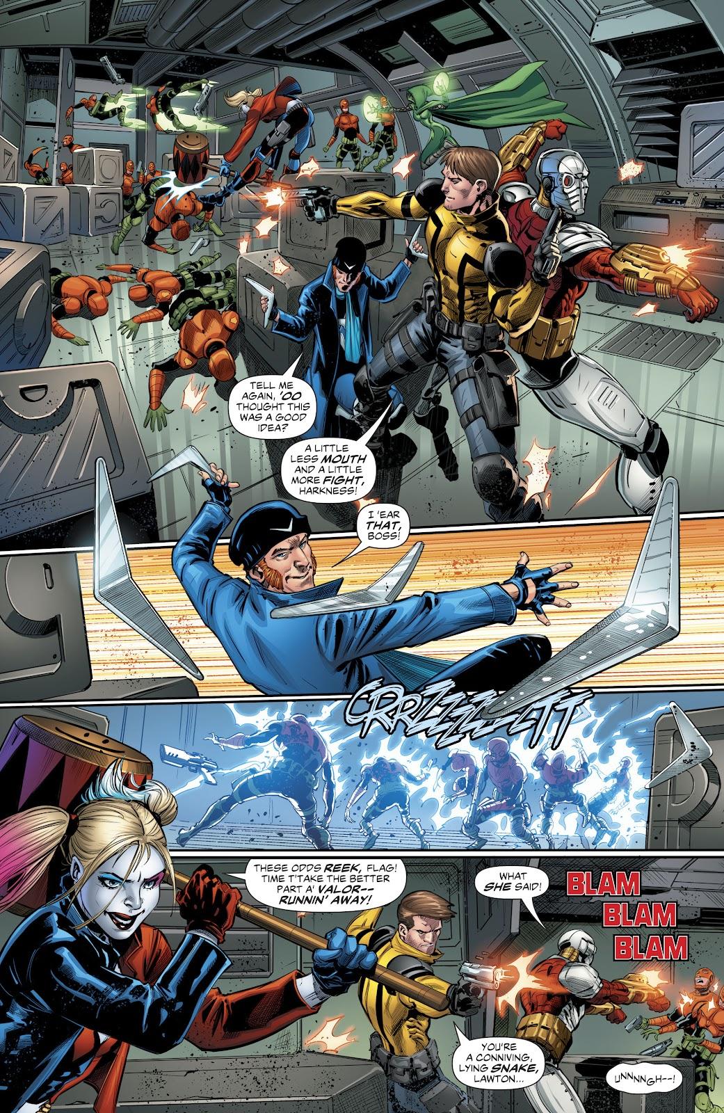 Read online Suicide Squad Black Files comic -  Issue #4 - 8