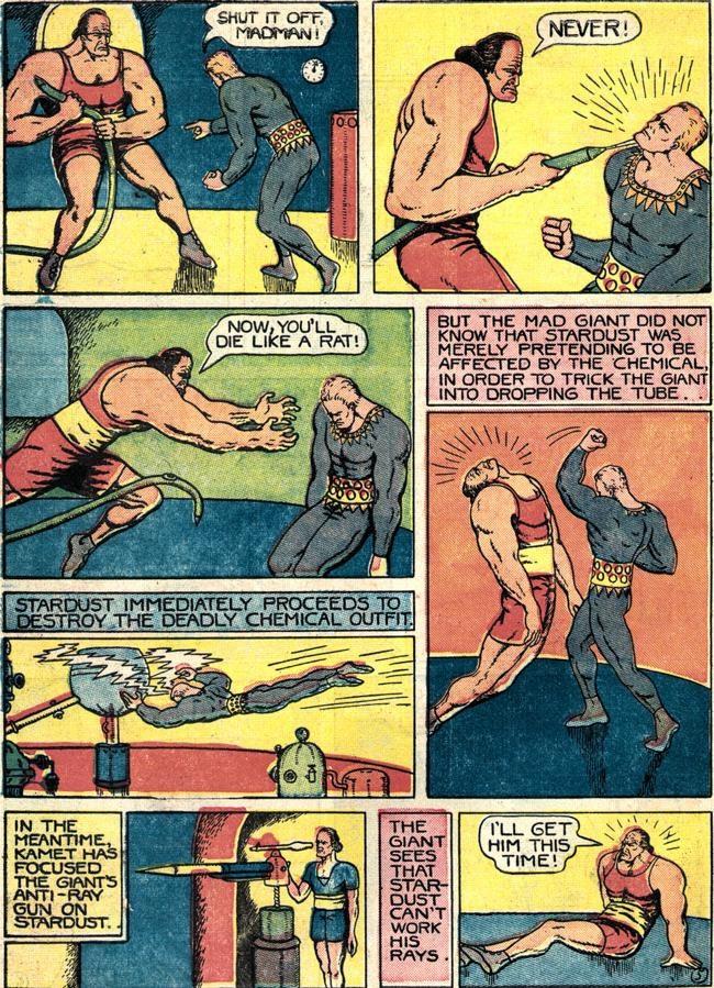 Read online Fantastic Comics comic -  Issue #4 - 57