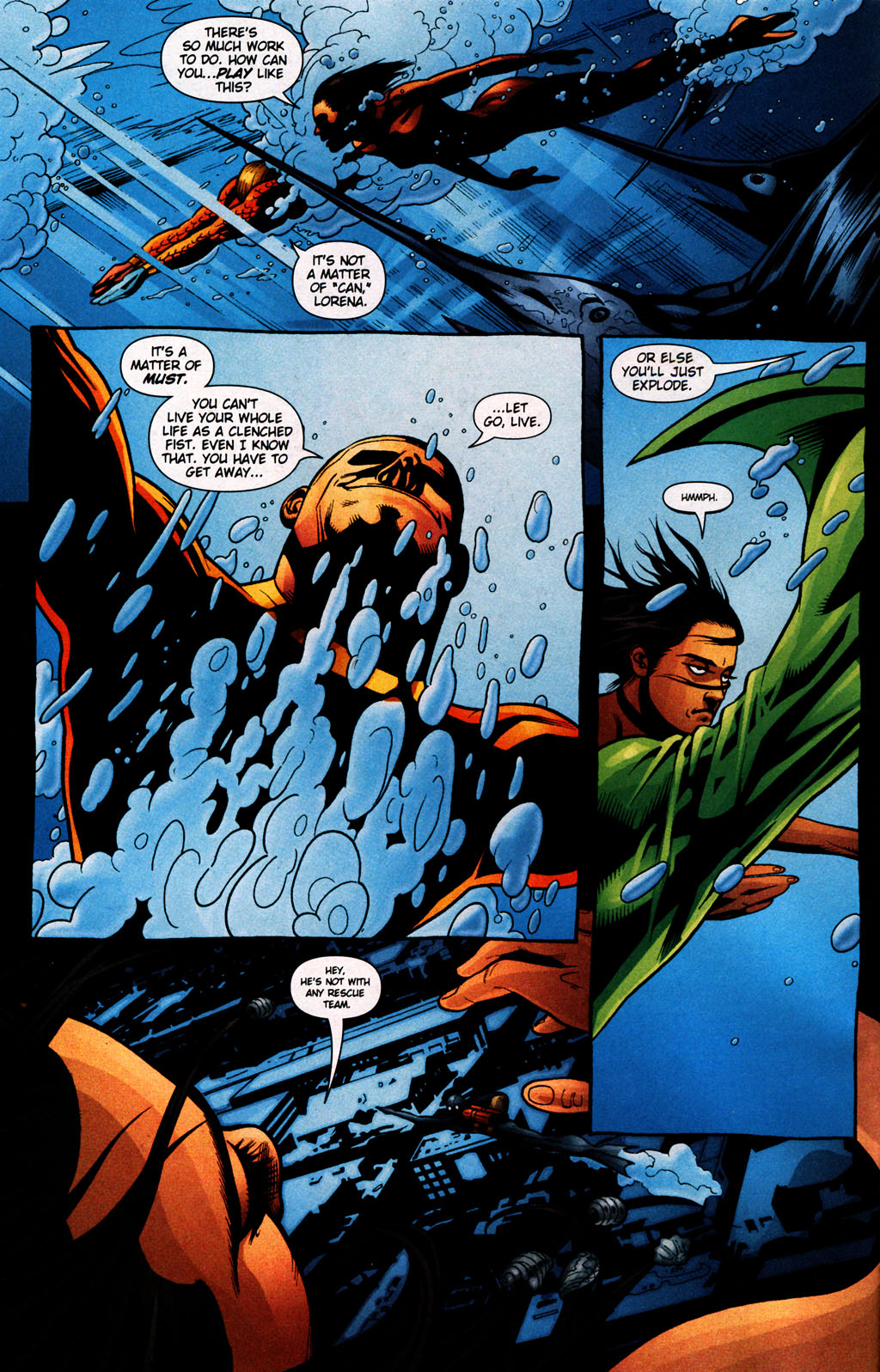 Read online Aquaman (2003) comic -  Issue #25 - 5