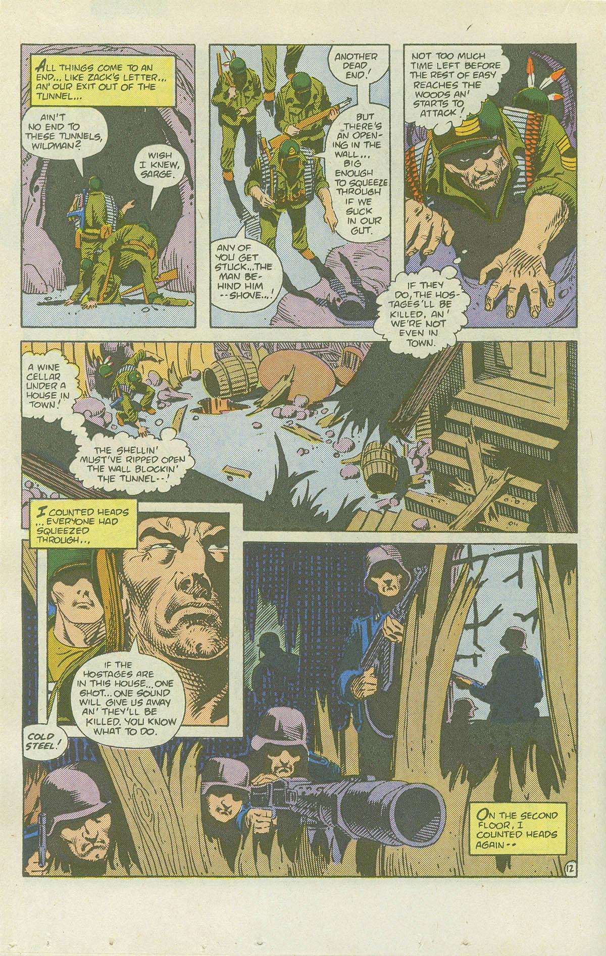 Read online Sgt. Rock comic -  Issue #415 - 17