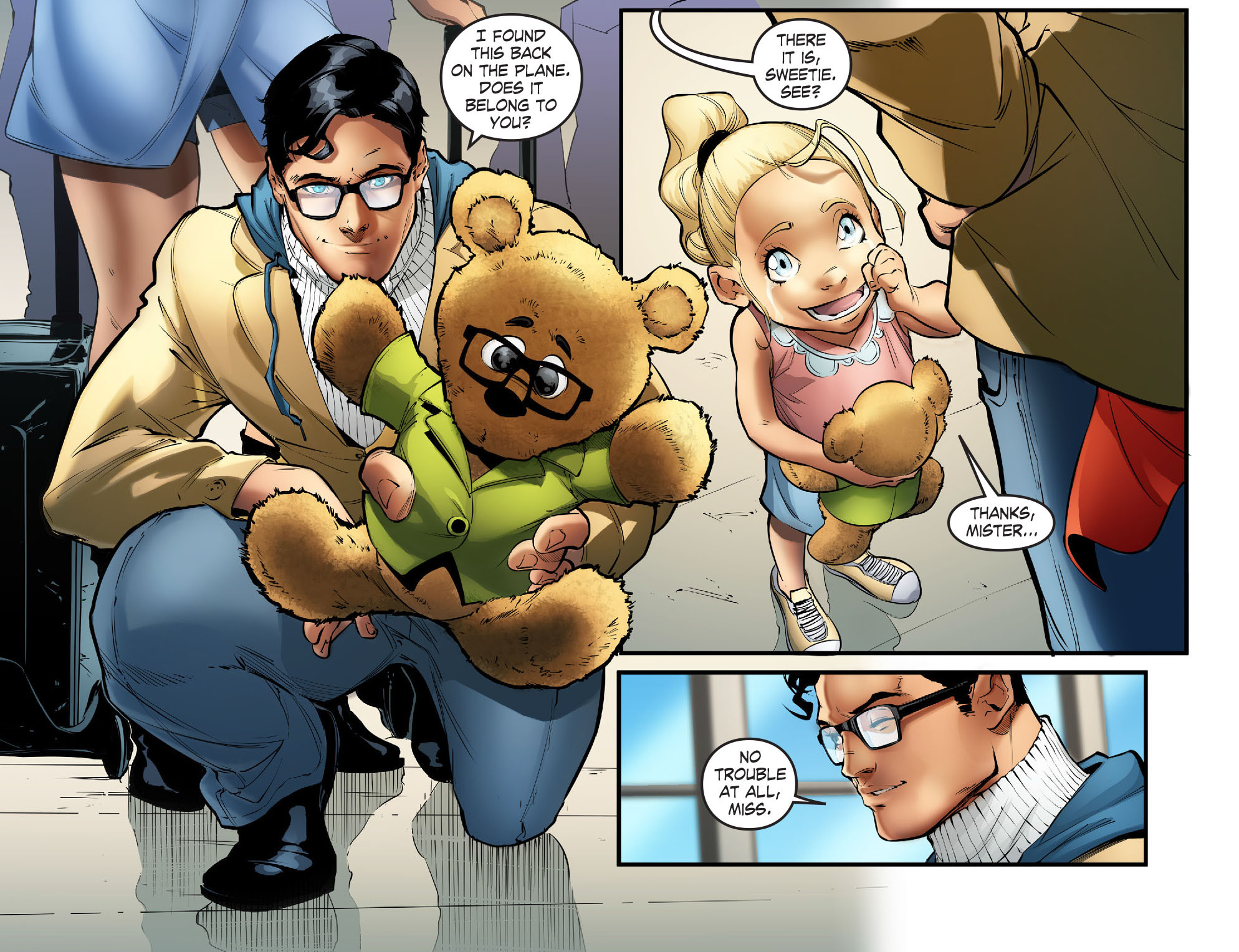 Read online Smallville: Season 11 comic -  Issue #57 - 8
