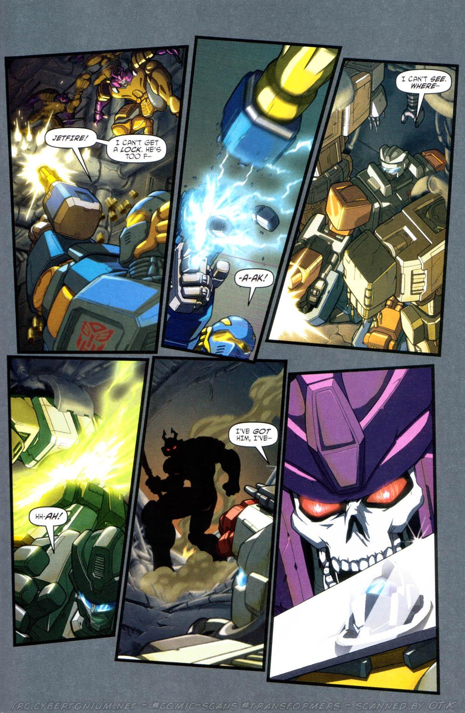 Read online Transformers Armada comic -  Issue #16 - 17