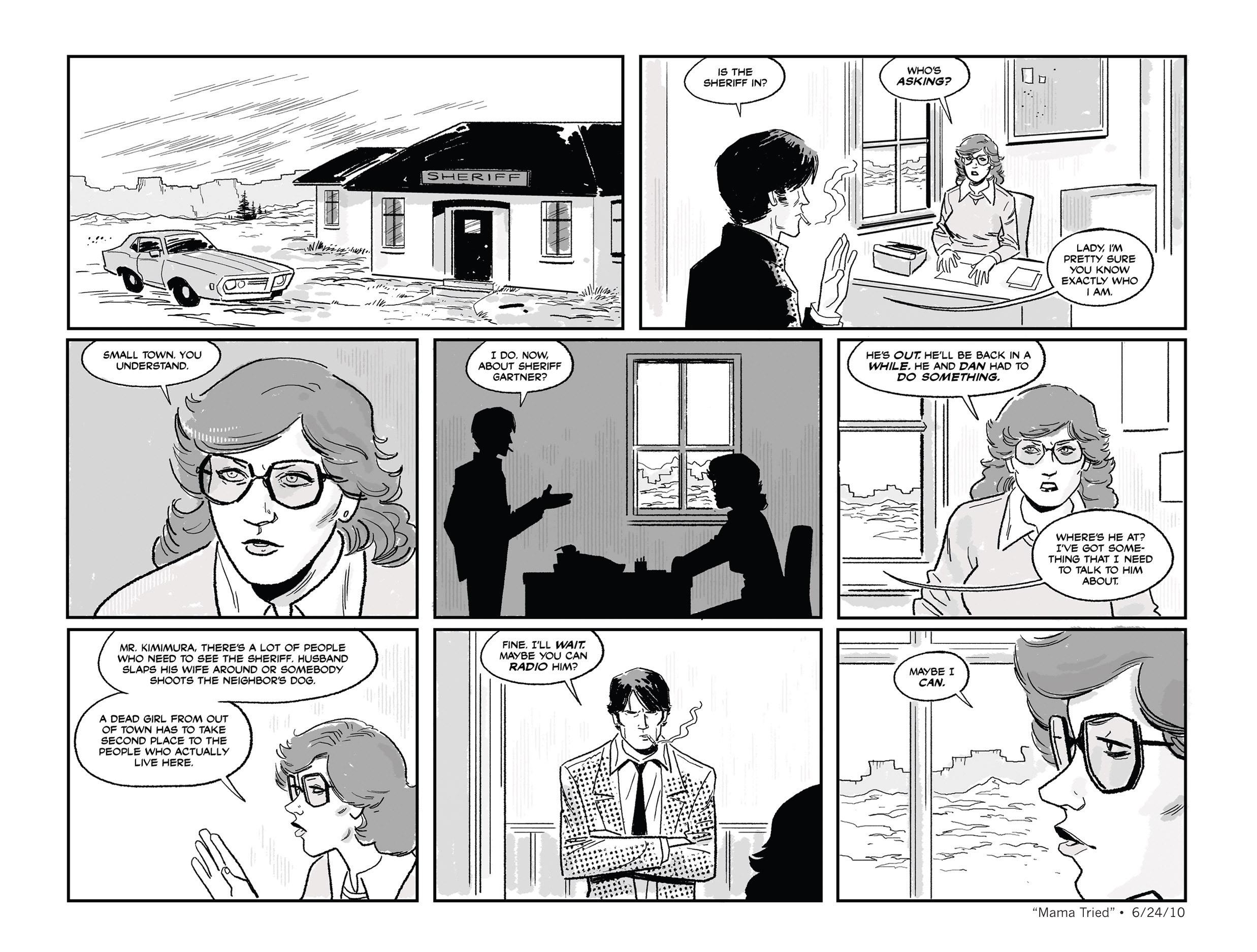 Read online She Died In Terrebonne comic -  Issue #3 - 7