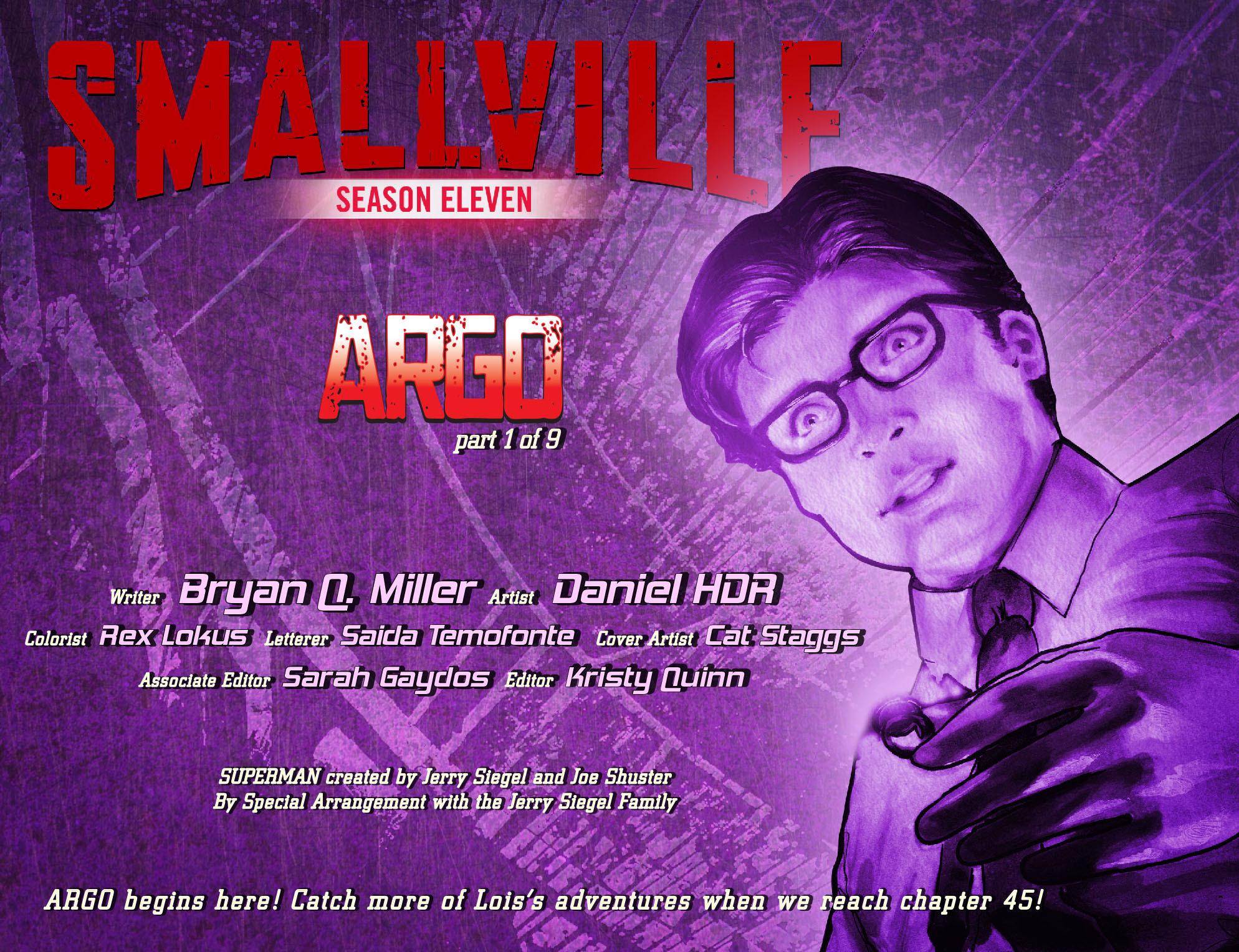 Read online Smallville: Season 11 comic -  Issue #42 - 2
