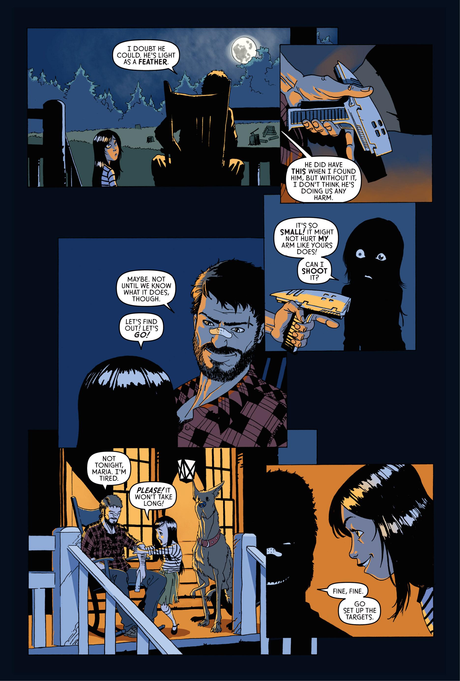 Read online Trespasser comic -  Issue #1 - 13