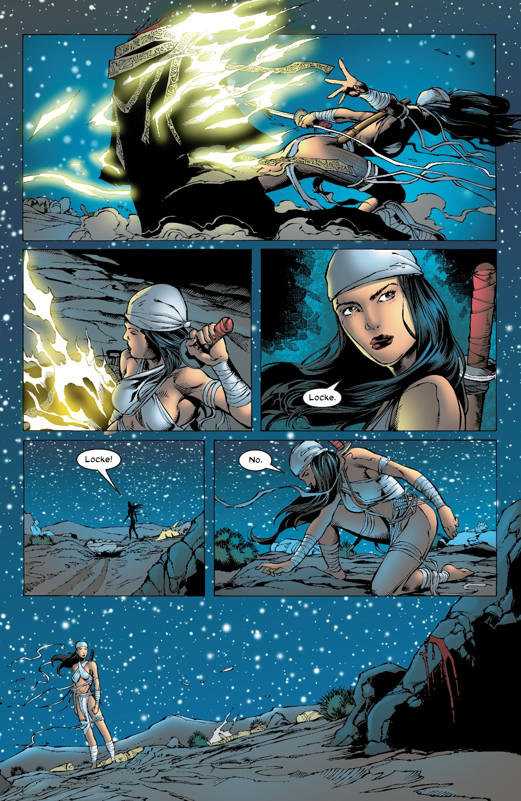 Read online Elektra (2001) comic -  Issue # _TPB Elektra by Greg Rucka Ultimate Collection (Part 4) - 70