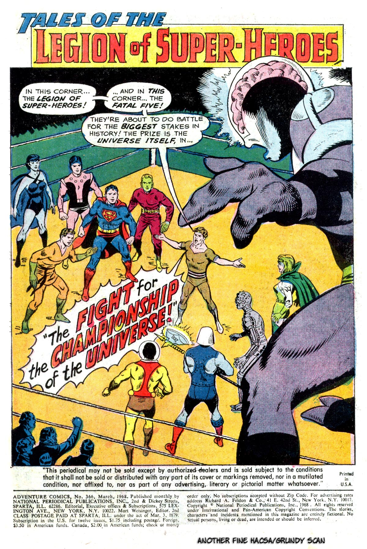 Read online Adventure Comics (1938) comic -  Issue #366 - 3