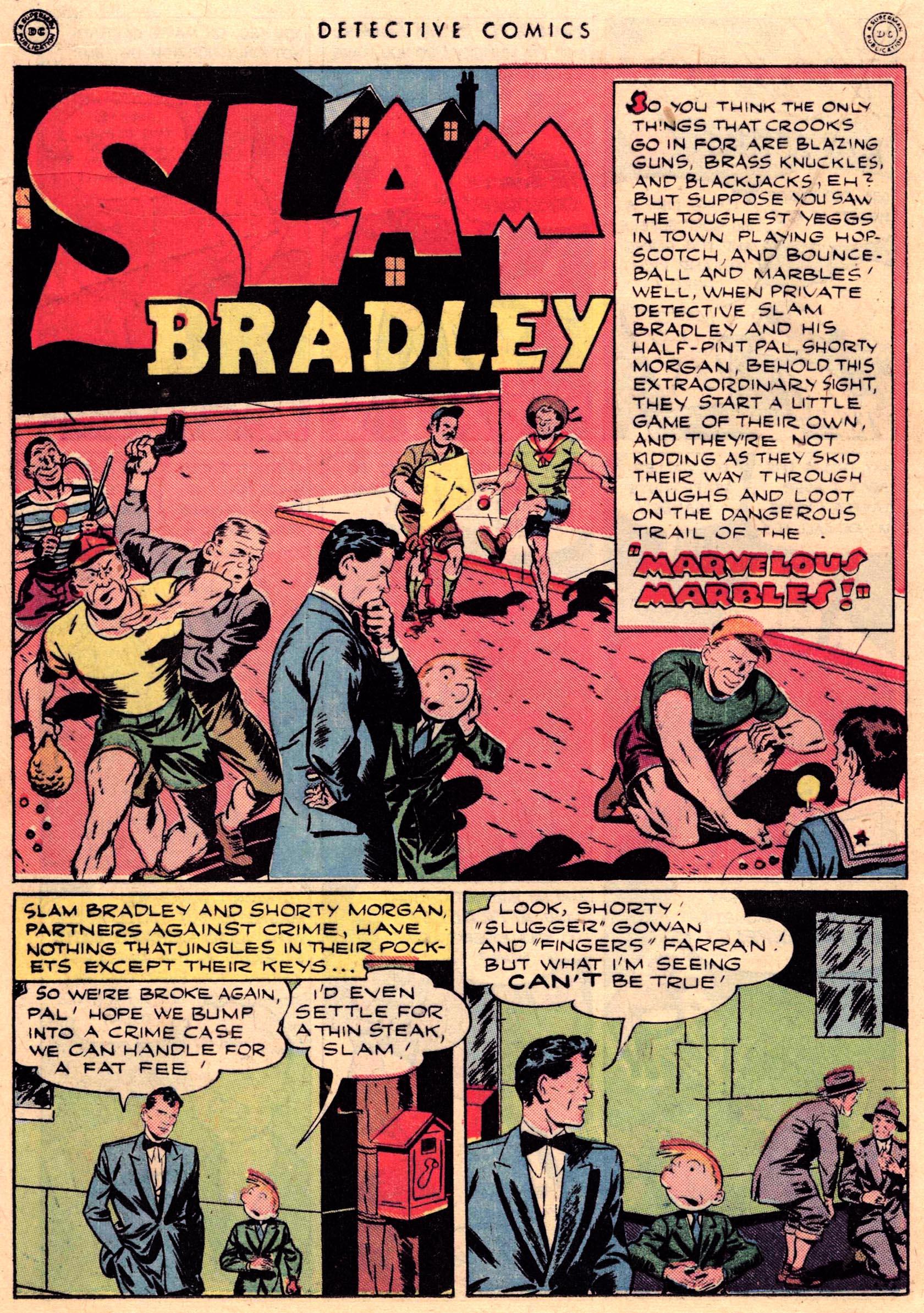 Read online Detective Comics (1937) comic -  Issue #95 - 22
