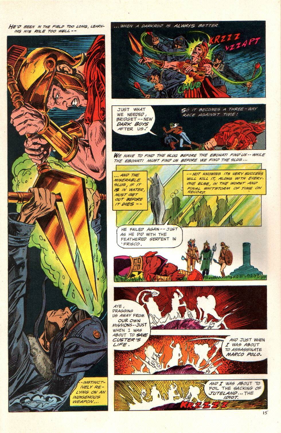 Read online Aztec Ace comic -  Issue #6 - 16