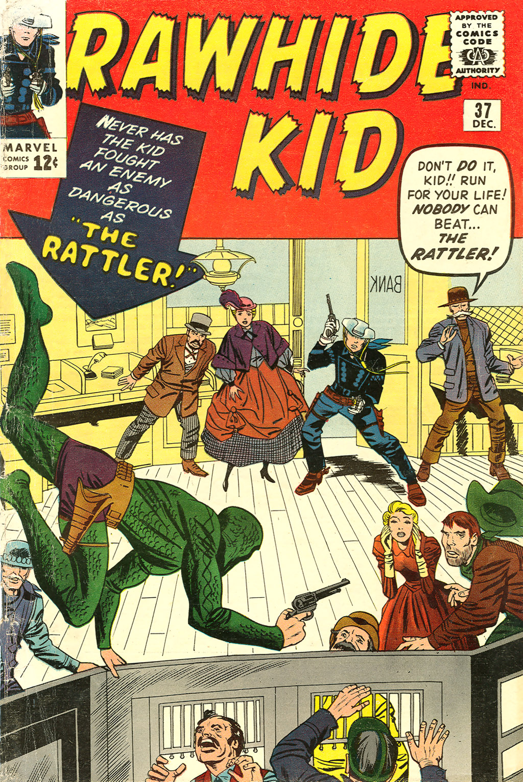 The Rawhide Kid (1955) issue 37 - Page 1