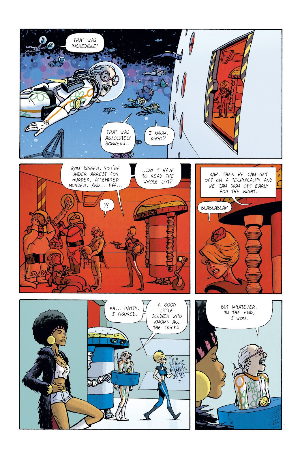 Read online Infinity 8 comic -  Issue #12 - 28