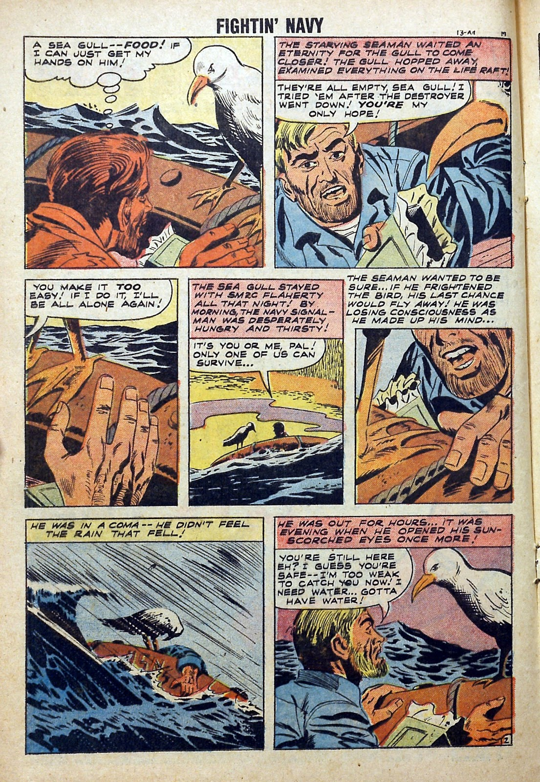 Read online Fightin' Navy comic -  Issue #84 - 16