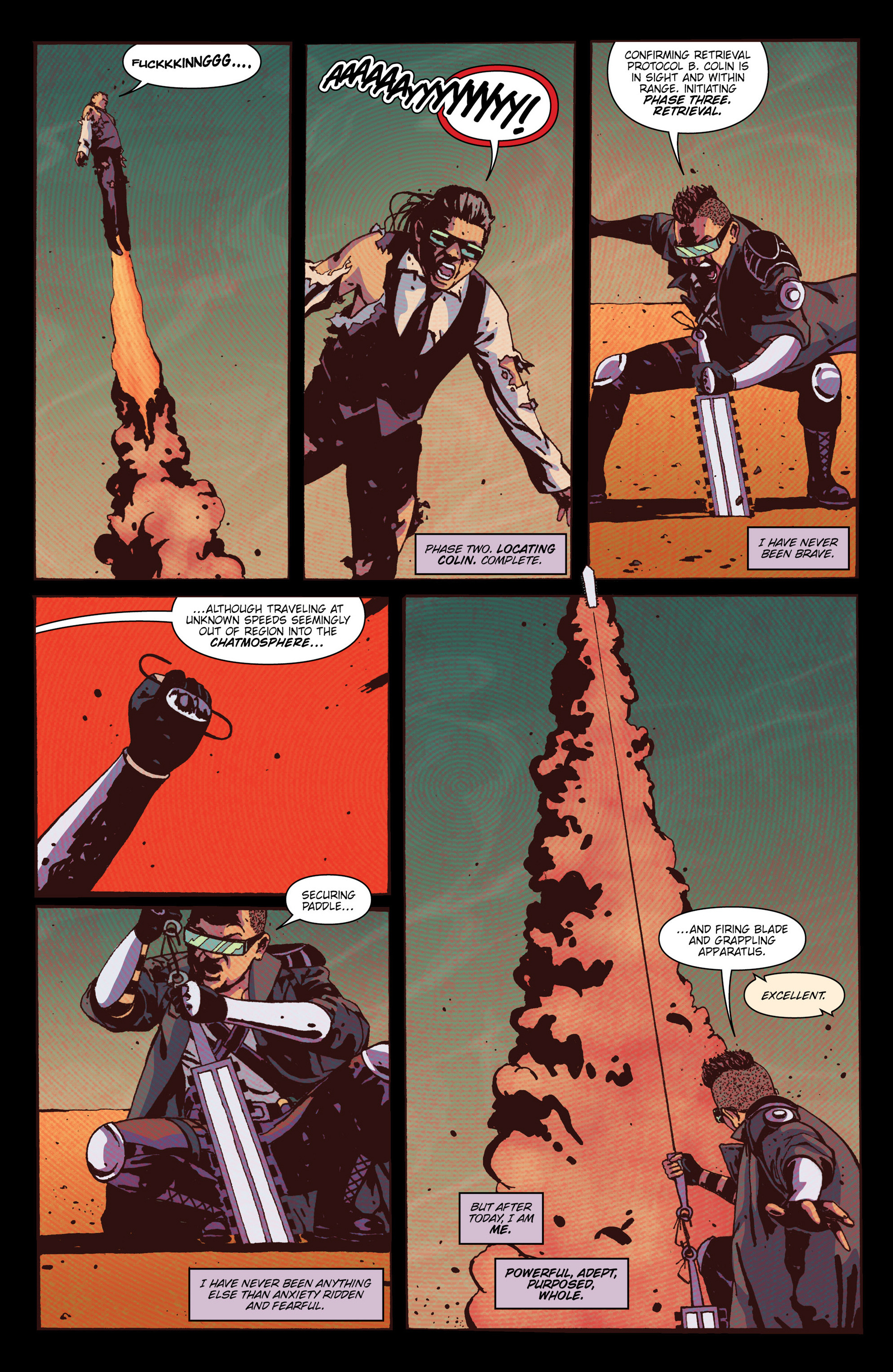 Read online X'ed comic -  Issue #4 - 25